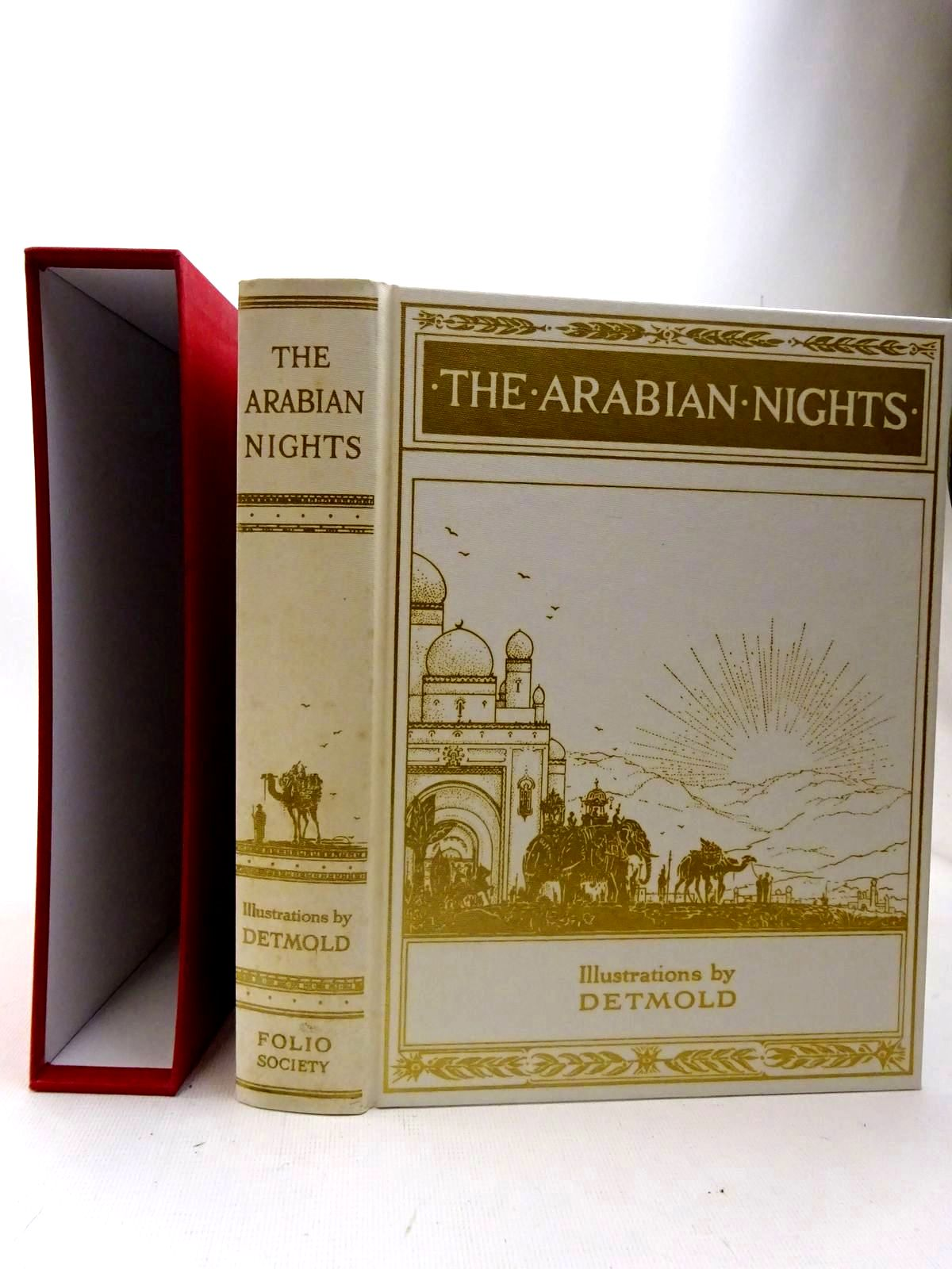 Photo of THE ARABIAN NIGHTS illustrated by Detmold, Edward J. published by Folio Society (STOCK CODE: 2126493)  for sale by Stella & Rose's Books