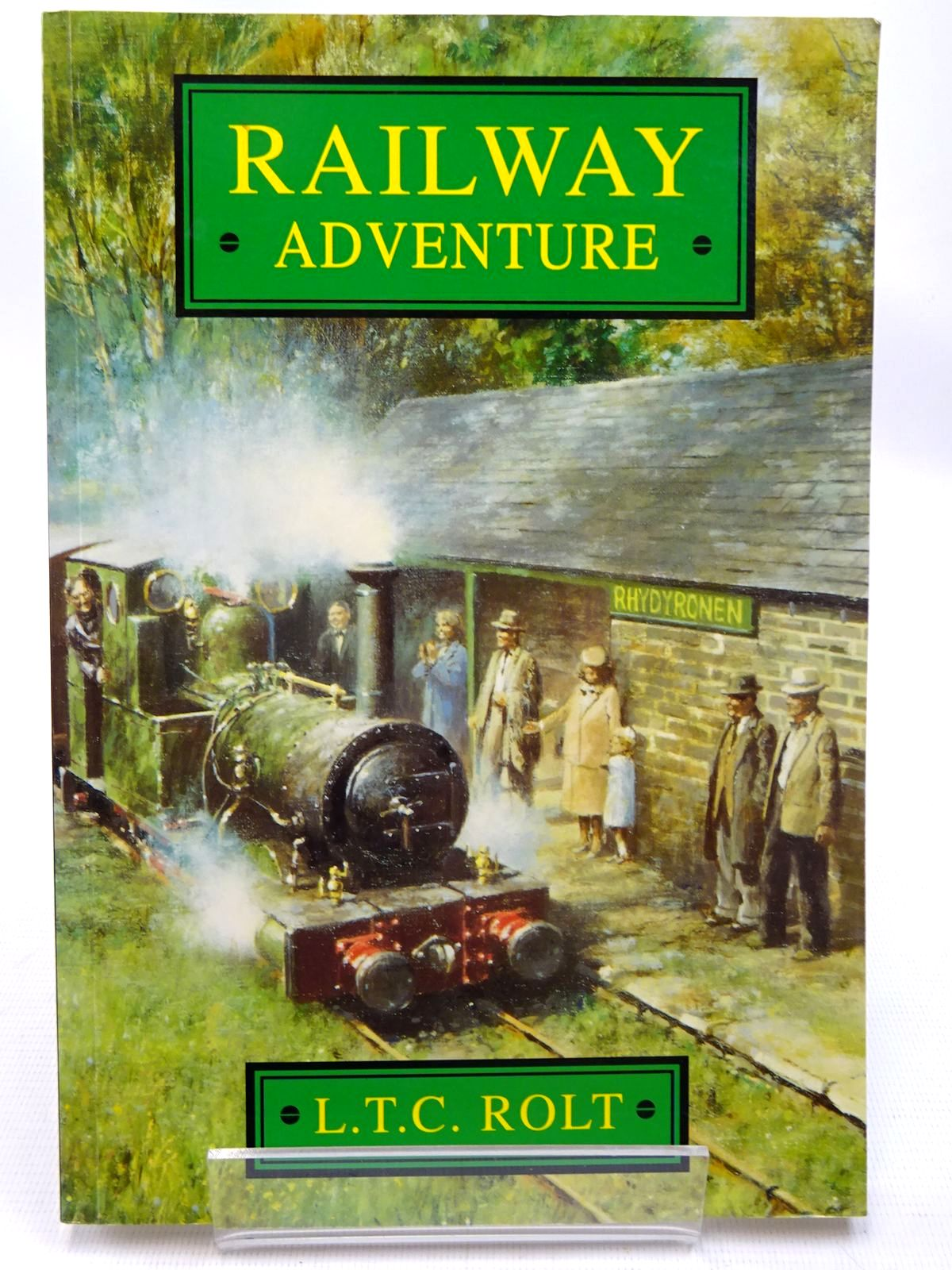 Photo of RAILWAY ADVENTURE written by Rolt, L.T.C. published by Sutton Publishing (STOCK CODE: 2126511)  for sale by Stella & Rose's Books