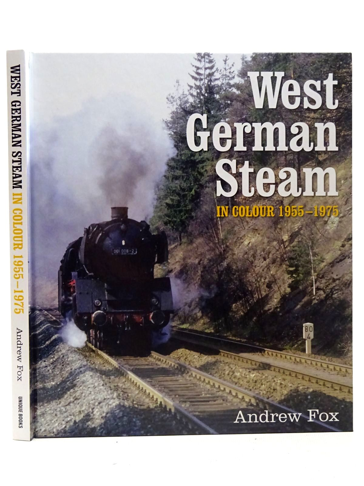 Photo of WEST GERMAN STEAM IN COLOUR 1955-1975 written by Fox, Andrew published by Unique Books (STOCK CODE: 2126515)  for sale by Stella & Rose's Books