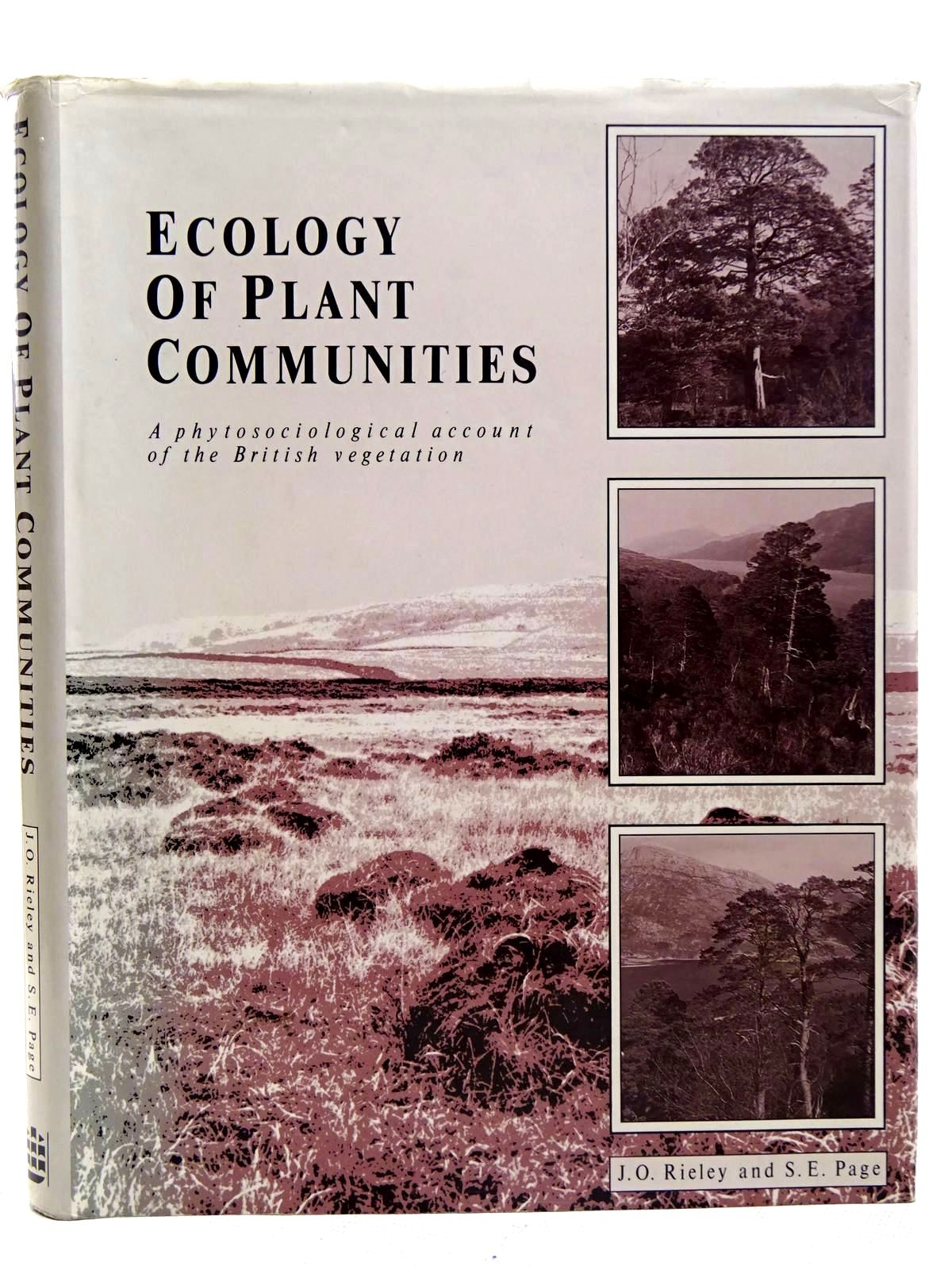 Photo of ECOLOGY OF PLANT COMMUNITIES written by Rieley, Jack<br />Page, Susan published by Longman Scientific & Technical (STOCK CODE: 2126535)  for sale by Stella & Rose's Books