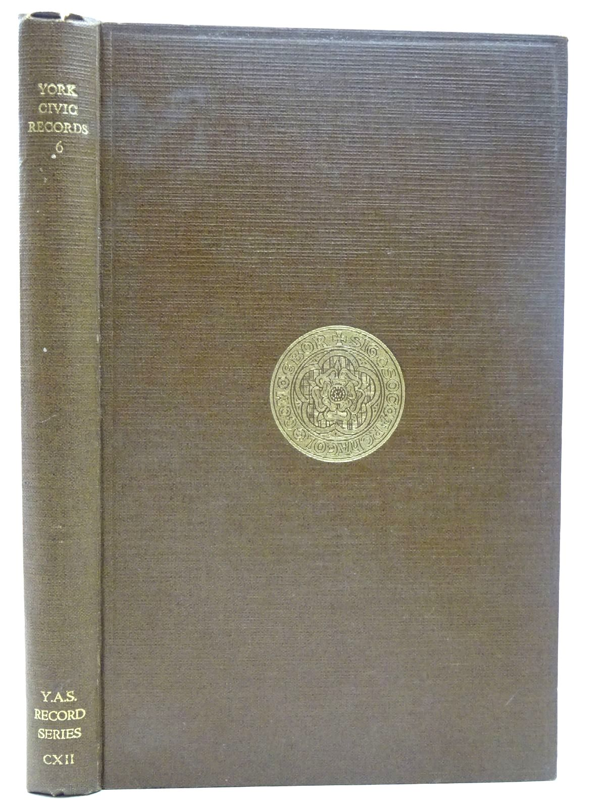 Photo of YORK CIVIC RECORDS VOL. VI written by Raine, Angelo published by Yorkshire Archaeological Society (STOCK CODE: 2126559)  for sale by Stella & Rose's Books