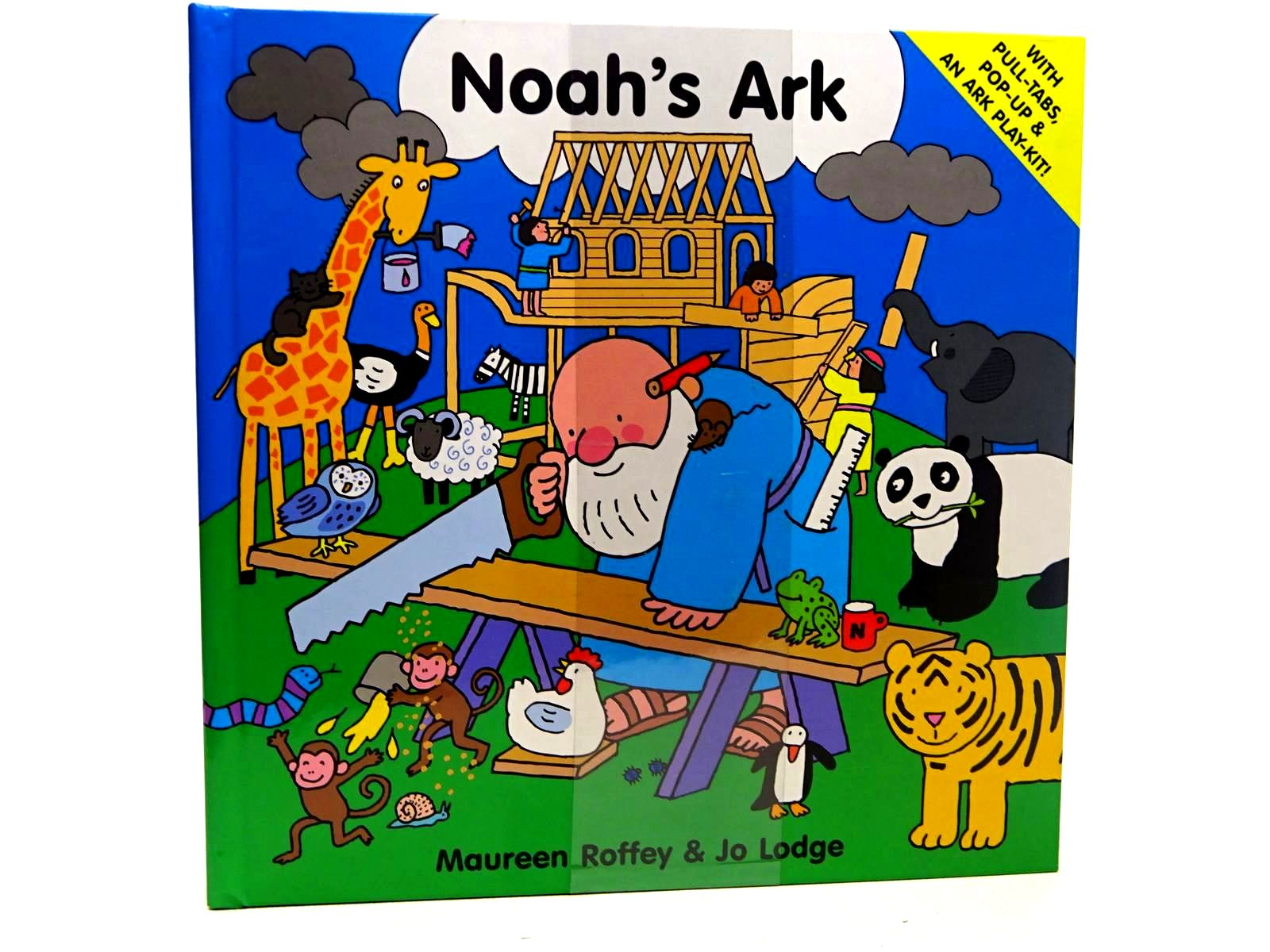 Photo of NOAH'S ARK written by Roffey, Maureen illustrated by Lodge, Jo published by Scholastic Press (STOCK CODE: 2126609)  for sale by Stella & Rose's Books
