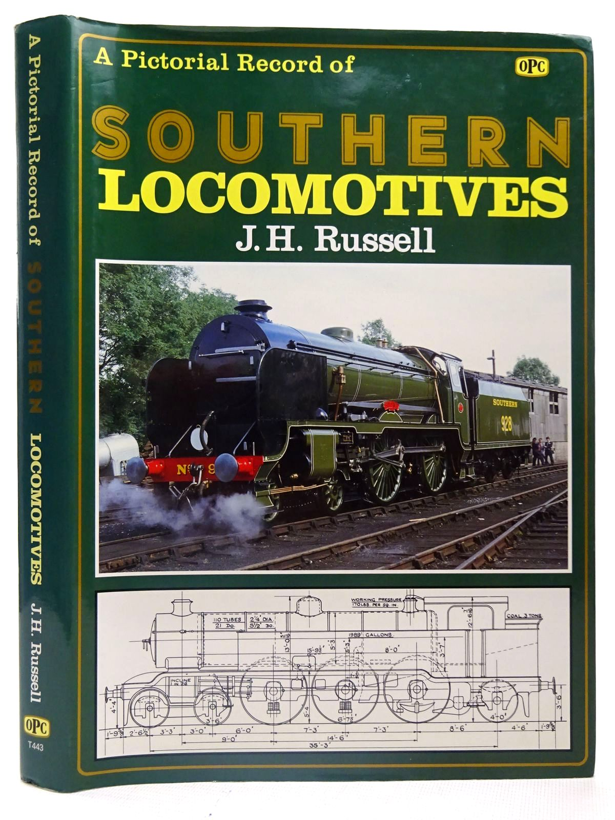 Photo of A PICTORIAL RECORD OF SOUTHERN LOCOMOTIVES written by Russell, J.H. published by Haynes, Oxford Publishing Co (STOCK CODE: 2126629)  for sale by Stella & Rose's Books
