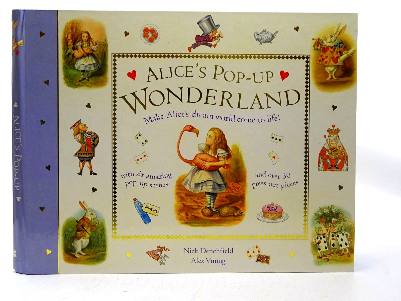 Photo of ALICE'S POP-UP WONDERLAND written by Carroll, Lewis<br />Denchfield, Nick illustrated by Vining, Alex published by Macmillan Children's Books (STOCK CODE: 2126636)  for sale by Stella & Rose's Books