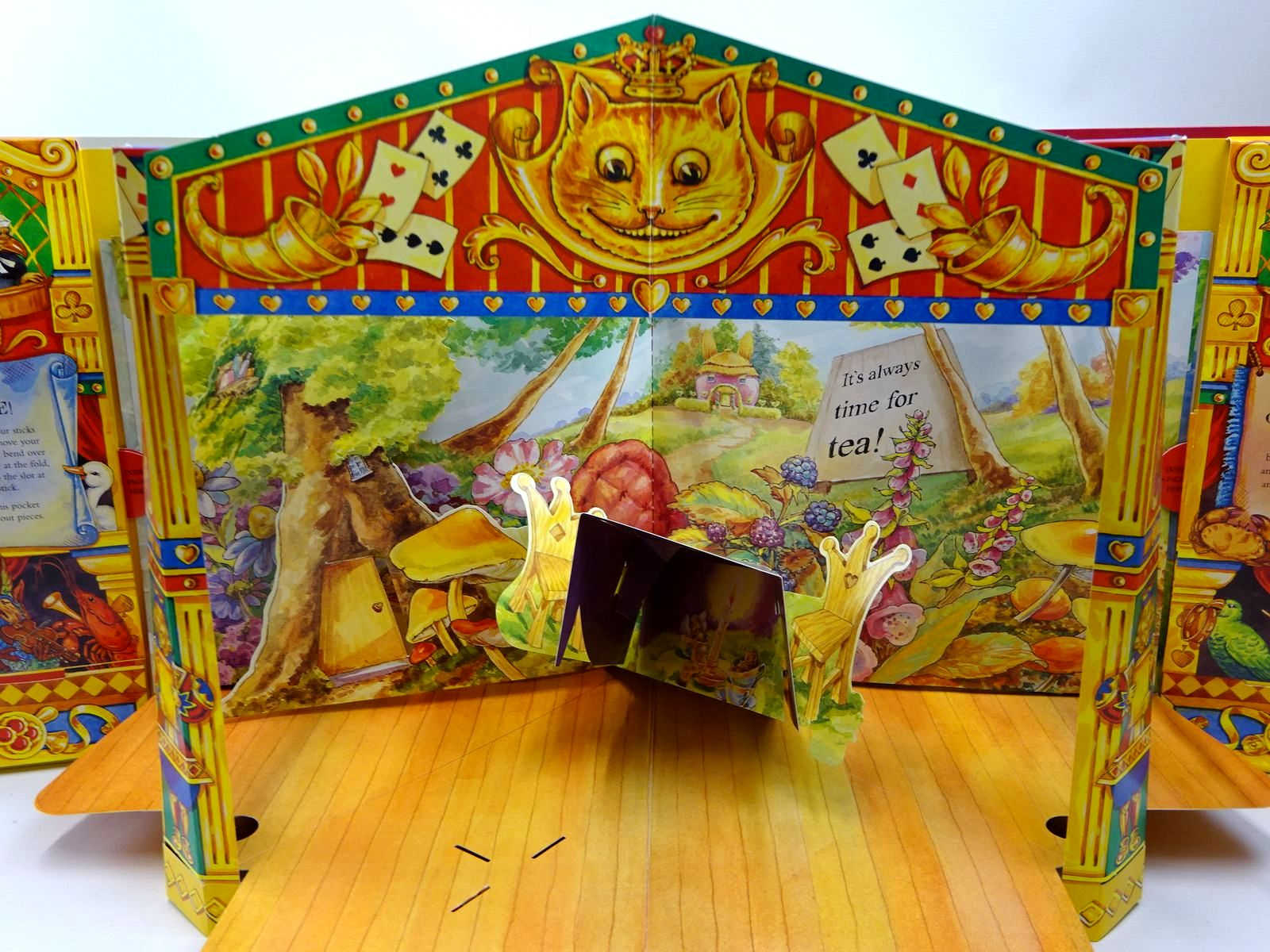 Photo of ALICE'S POP-UP THEATRE BOOK written by Carroll, Lewis<br />Denchfield, Nick illustrated by Vining, Alex published by Macmillan Children's Books (STOCK CODE: 2126638)  for sale by Stella & Rose's Books