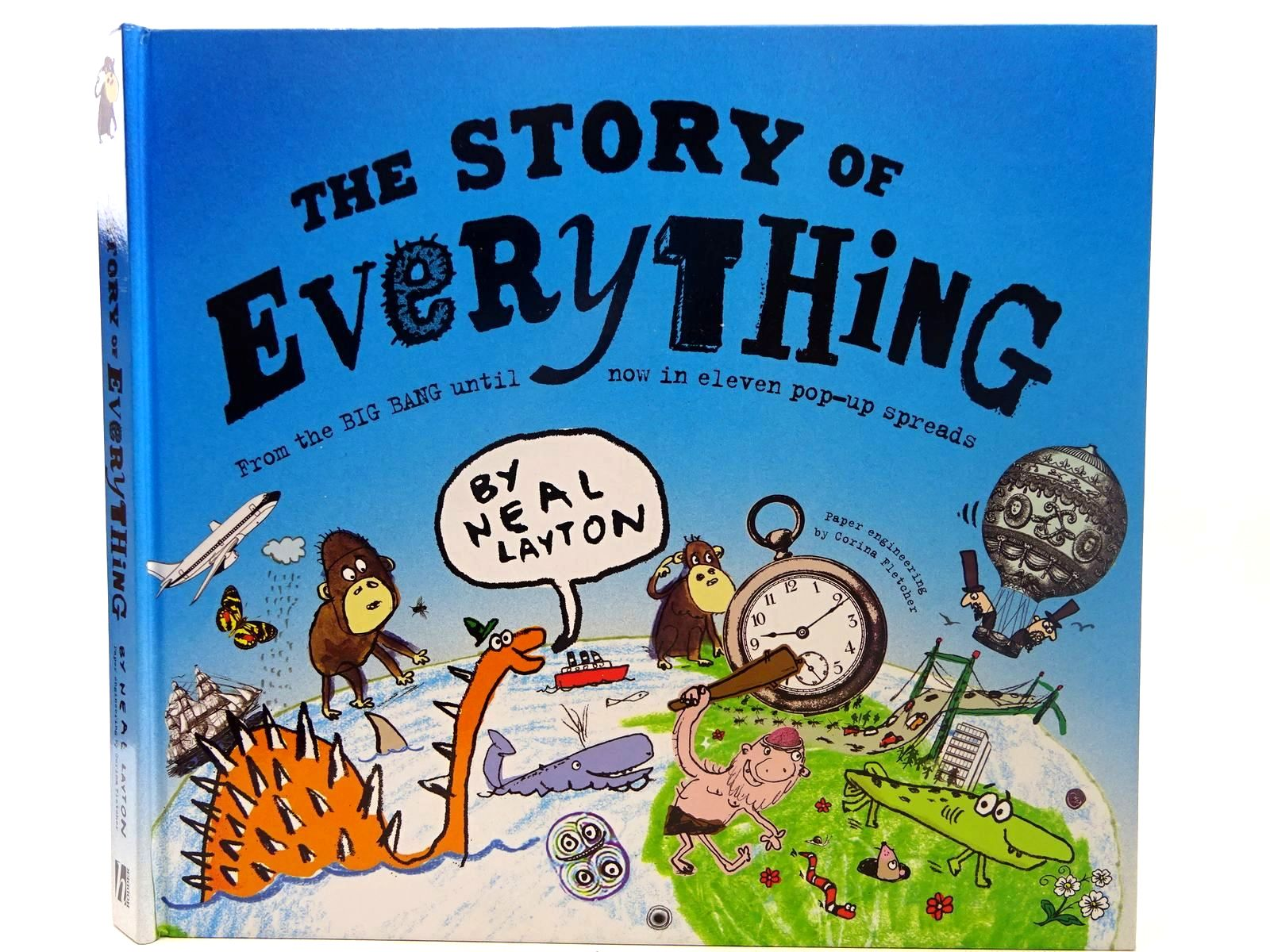 Photo of THE STORY OF EVERYTHING written by Layton, Neal illustrated by Layton, Neal<br />Fletcher, Corina published by Hodder Children's Books (STOCK CODE: 2126684)  for sale by Stella & Rose's Books