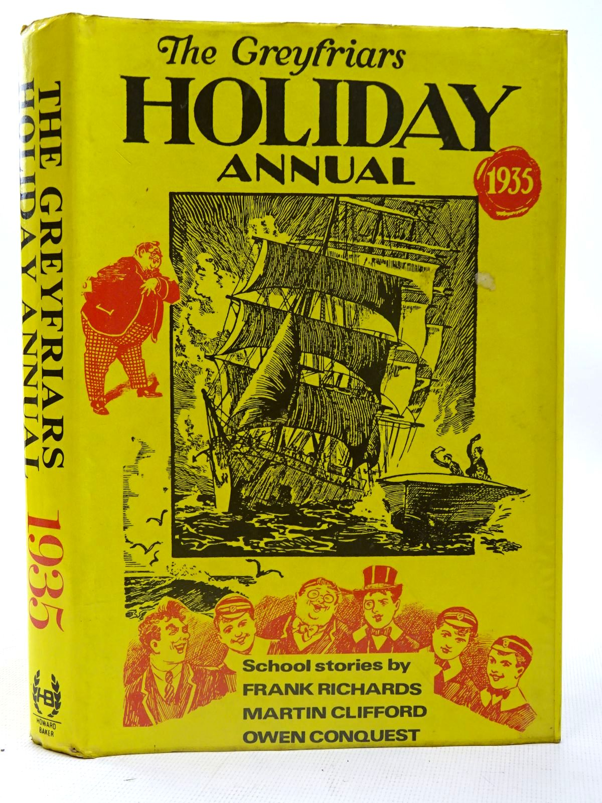Photo of THE GREYFRIARS HOLIDAY ANNUAL 1935 written by Richards, Frank published by Howard Baker (STOCK CODE: 2126713)  for sale by Stella & Rose's Books