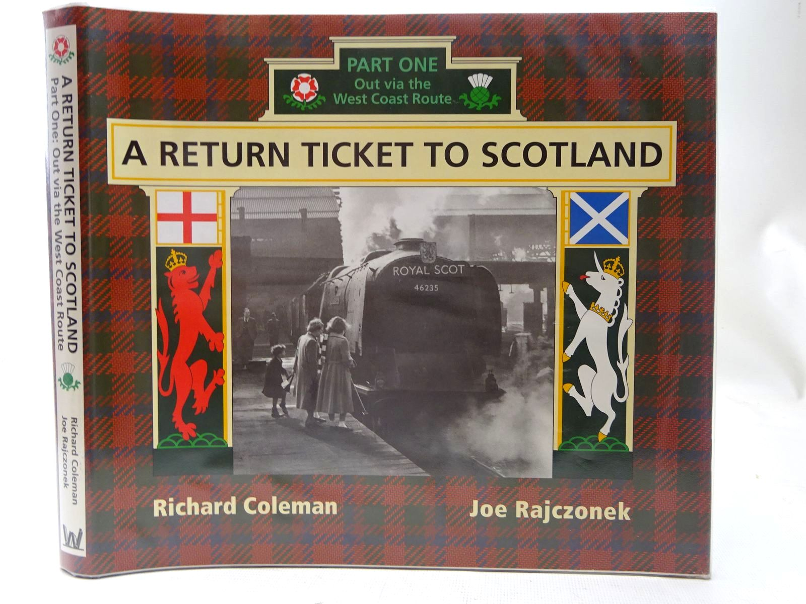 Photo of A RETURN TICKET TO SCOTLAND PART ONE written by Coleman, Richard<br />Rajczonek, Joe published by W.D. Wharton (STOCK CODE: 2126742)  for sale by Stella & Rose's Books