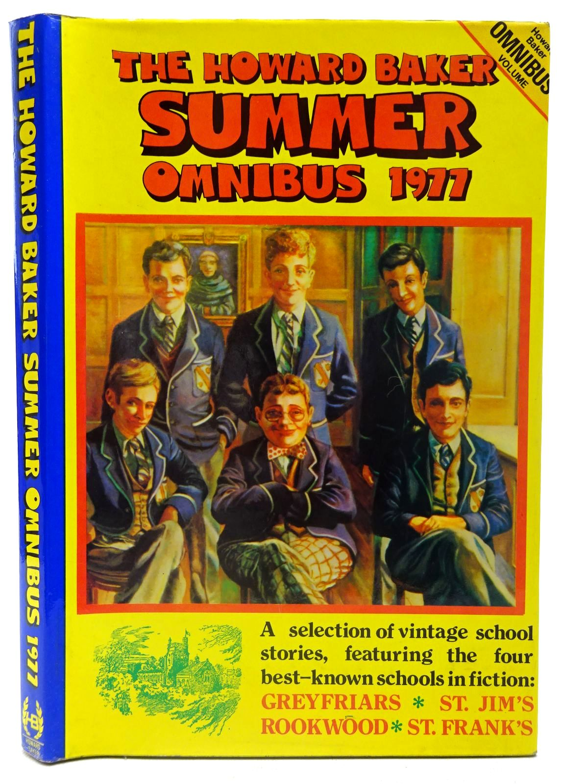 Photo of THE HOWARD BAKER SUMMER OMNIBUS 1977 written by Clifford, Martin<br />Richards, Frank published by Howard Baker (STOCK CODE: 2126759)  for sale by Stella & Rose's Books