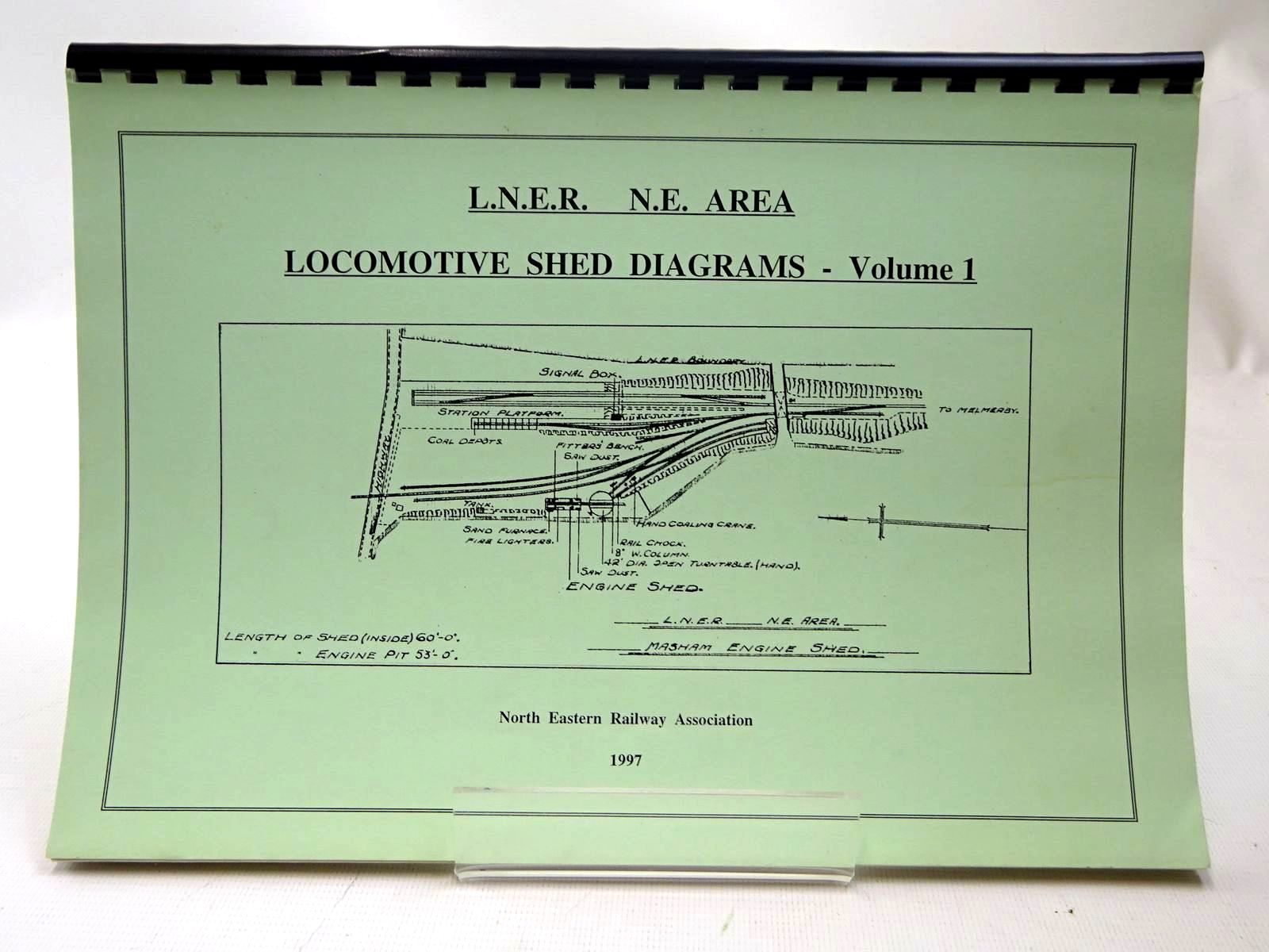 Photo of L.N.E.R.  N.E. AREA LOCOMOTIVE SHED DIAGRAMS - VOLUME 1 written by Williamson, David<br />Williamson, Claire published by The North Eastern Railway Association (STOCK CODE: 2126805)  for sale by Stella & Rose's Books