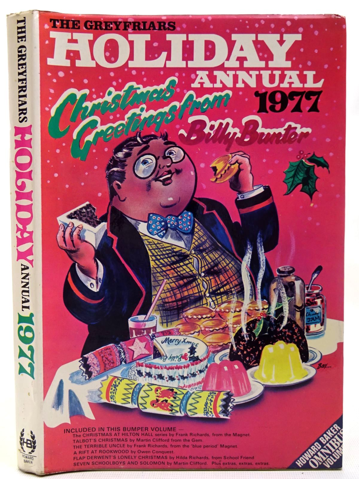 Photo of THE GREYFRIARS HOLIDAY ANNUAL 1977 written by Richards, Frank published by Howard Baker (STOCK CODE: 2126808)  for sale by Stella & Rose's Books