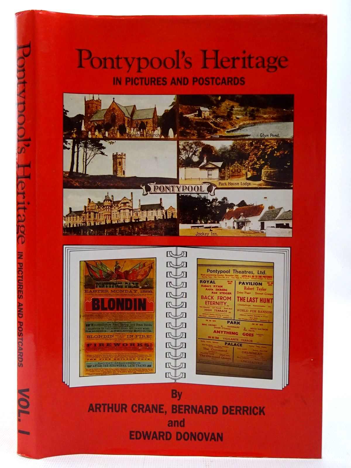 Photo of PONTYPOOL'S HERITAGE IN PICTURES AND POSTCARDS written by Crane, Arthur<br />Derrick, Bernard<br />Donovan, Edward published by The Starling Press (STOCK CODE: 2126842)  for sale by Stella & Rose's Books