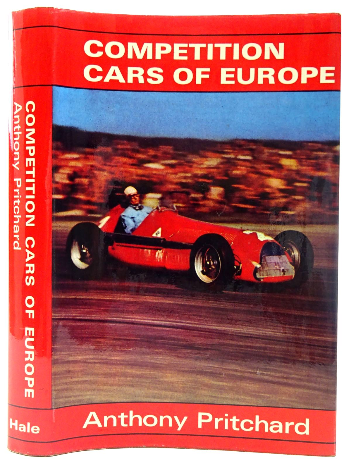 Photo of COMPETITION CARS OF EUROPE written by Pritchard, Anthony published by Robert Hale & Company (STOCK CODE: 2126853)  for sale by Stella & Rose's Books