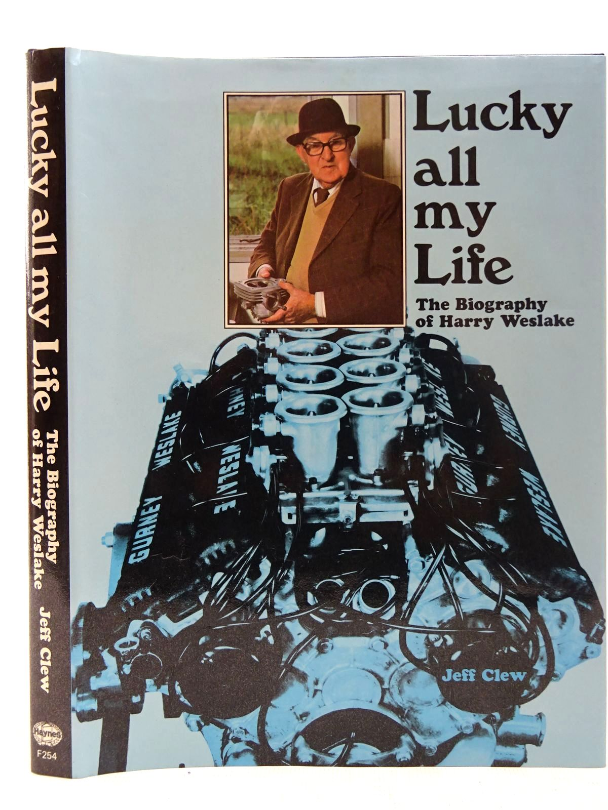 Photo of LUCKY ALL MY LIFE written by Clew, Jeff published by Haynes Publishing Group (STOCK CODE: 2126869)  for sale by Stella & Rose's Books