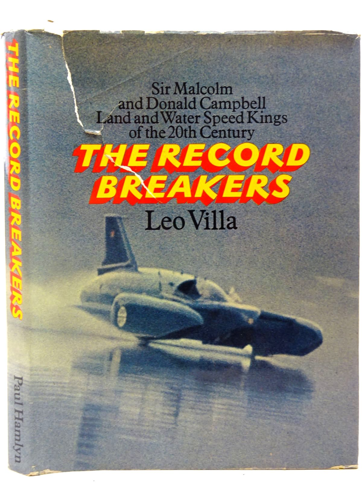 Photo of THE RECORD BREAKERS written by Villa, Leo<br />Gray, Tony published by Paul Hamlyn (STOCK CODE: 2126886)  for sale by Stella & Rose's Books