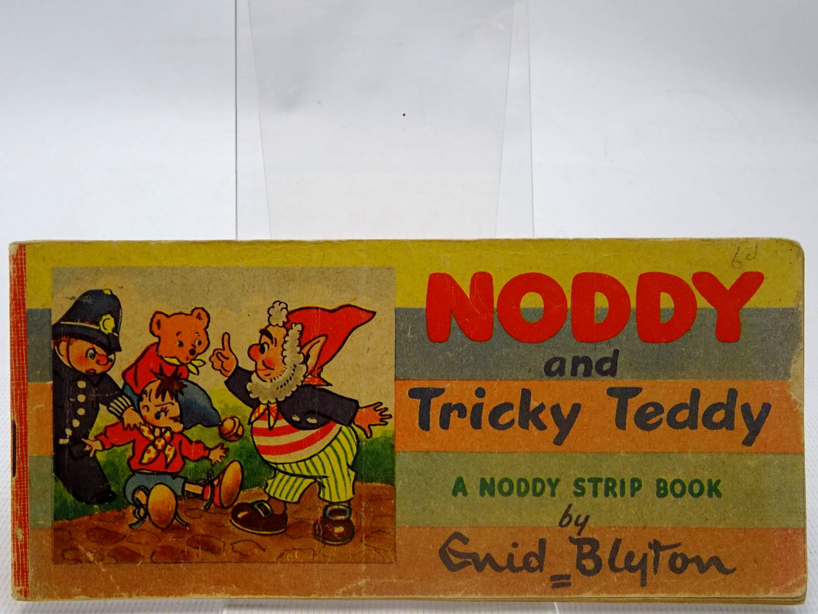 Photo of NODDY AND TRICKY TEDDY written by Blyton, Enid published by Sampson Low, Marston & Co. Ltd. (STOCK CODE: 2126910)  for sale by Stella & Rose's Books