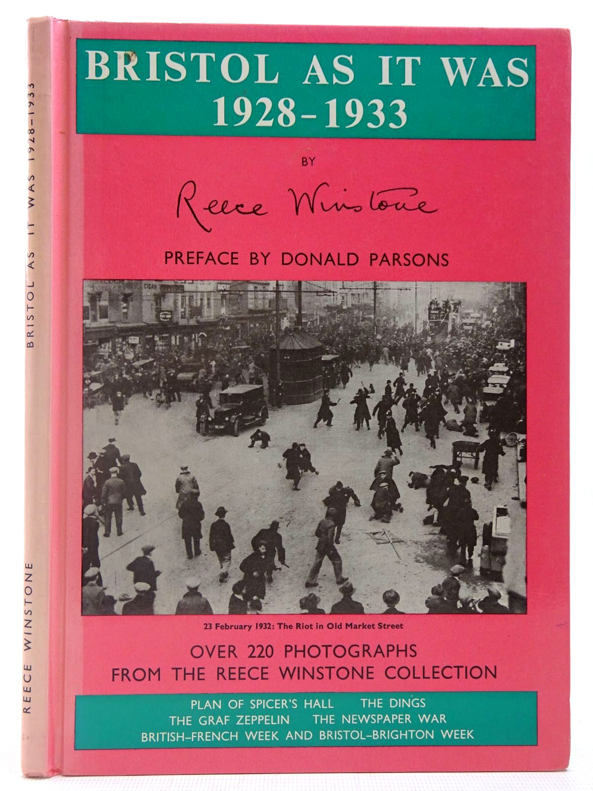 Photo of BRISTOL AS IT WAS 1928-1933 written by Winstone, Reece published by Reece Winstone (STOCK CODE: 2126944)  for sale by Stella & Rose's Books