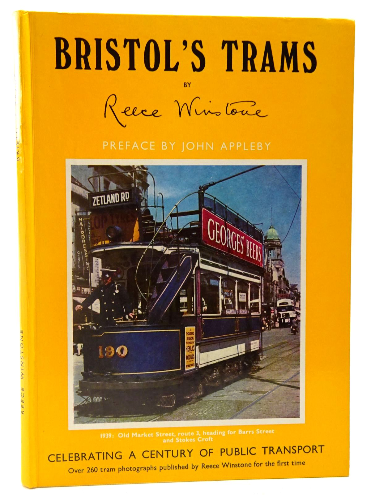 Photo of BRISTOL'S TRAMS written by Winstone, Reece published by Reece Winstone (STOCK CODE: 2126946)  for sale by Stella & Rose's Books