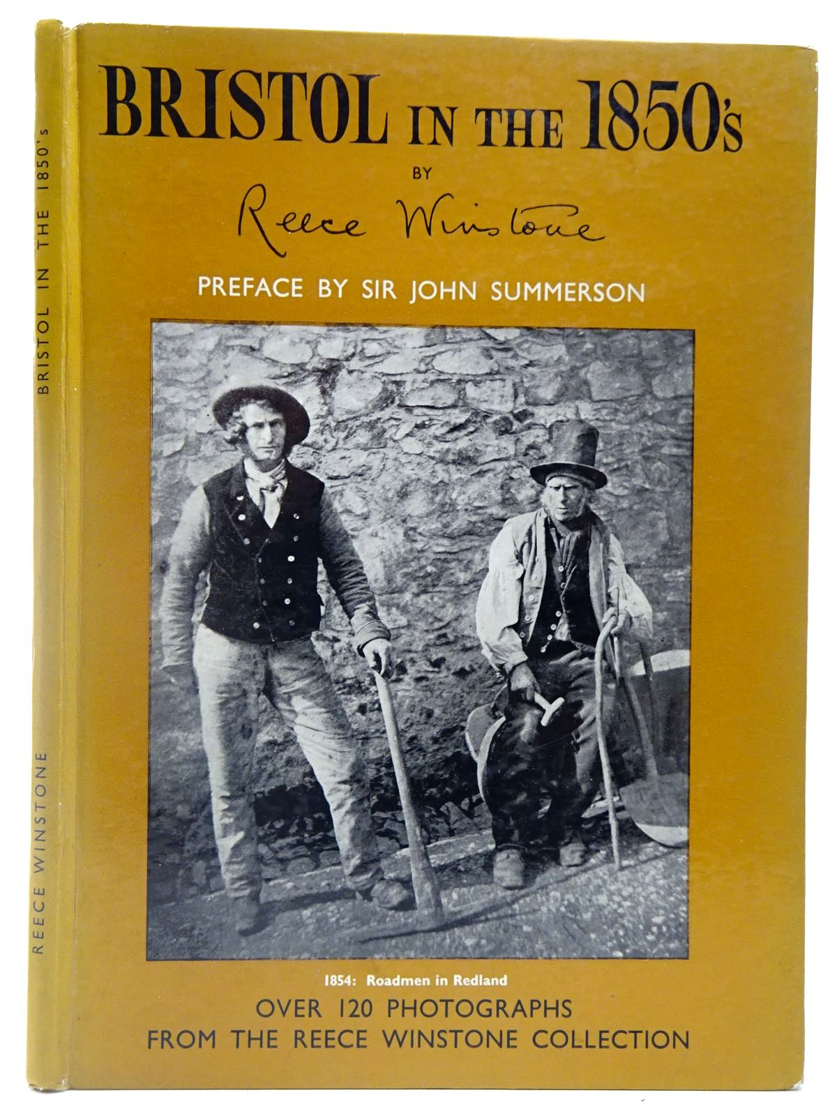 Photo of BRISTOL IN THE 1850'S written by Winstone, Reece published by Reece Winstone (STOCK CODE: 2126947)  for sale by Stella & Rose's Books