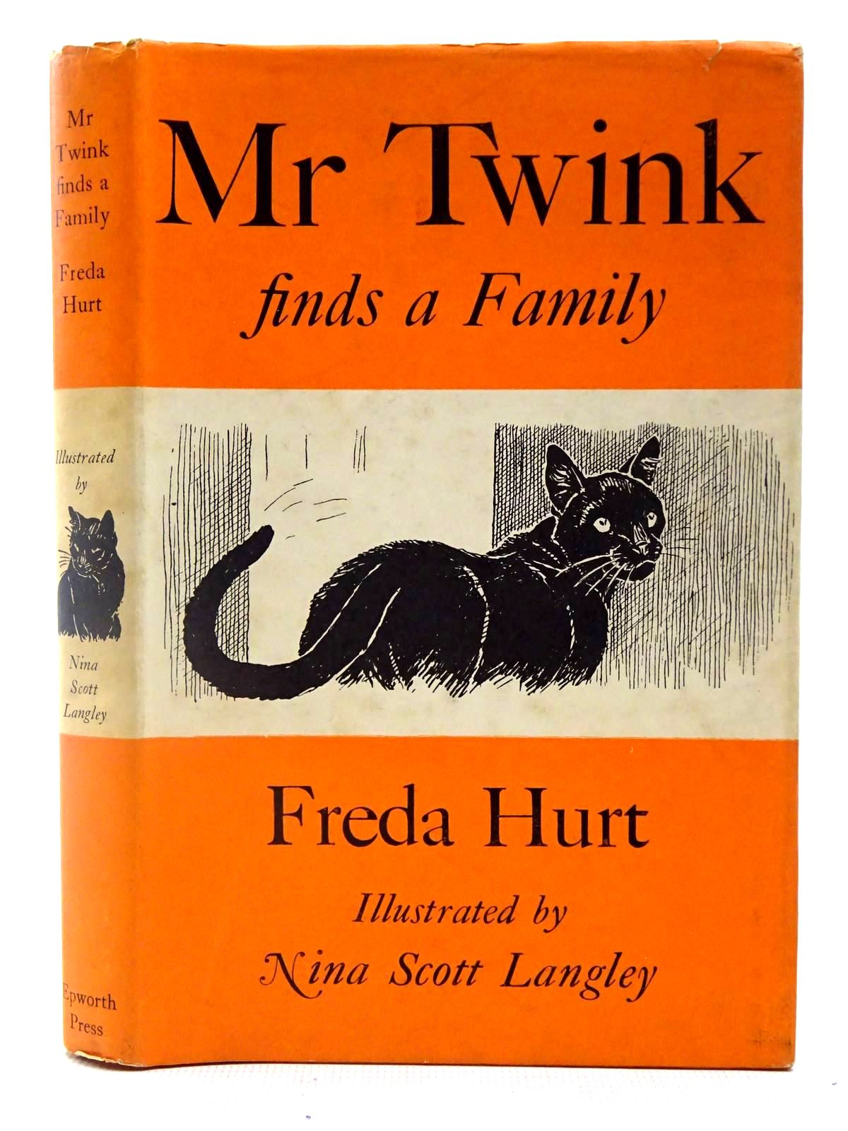 Photo of MR. TWINK FINDS A FAMILY written by Hurt, Freda illustrated by Langley, Nina Scott published by The Epworth Press (STOCK CODE: 2127058)  for sale by Stella & Rose's Books