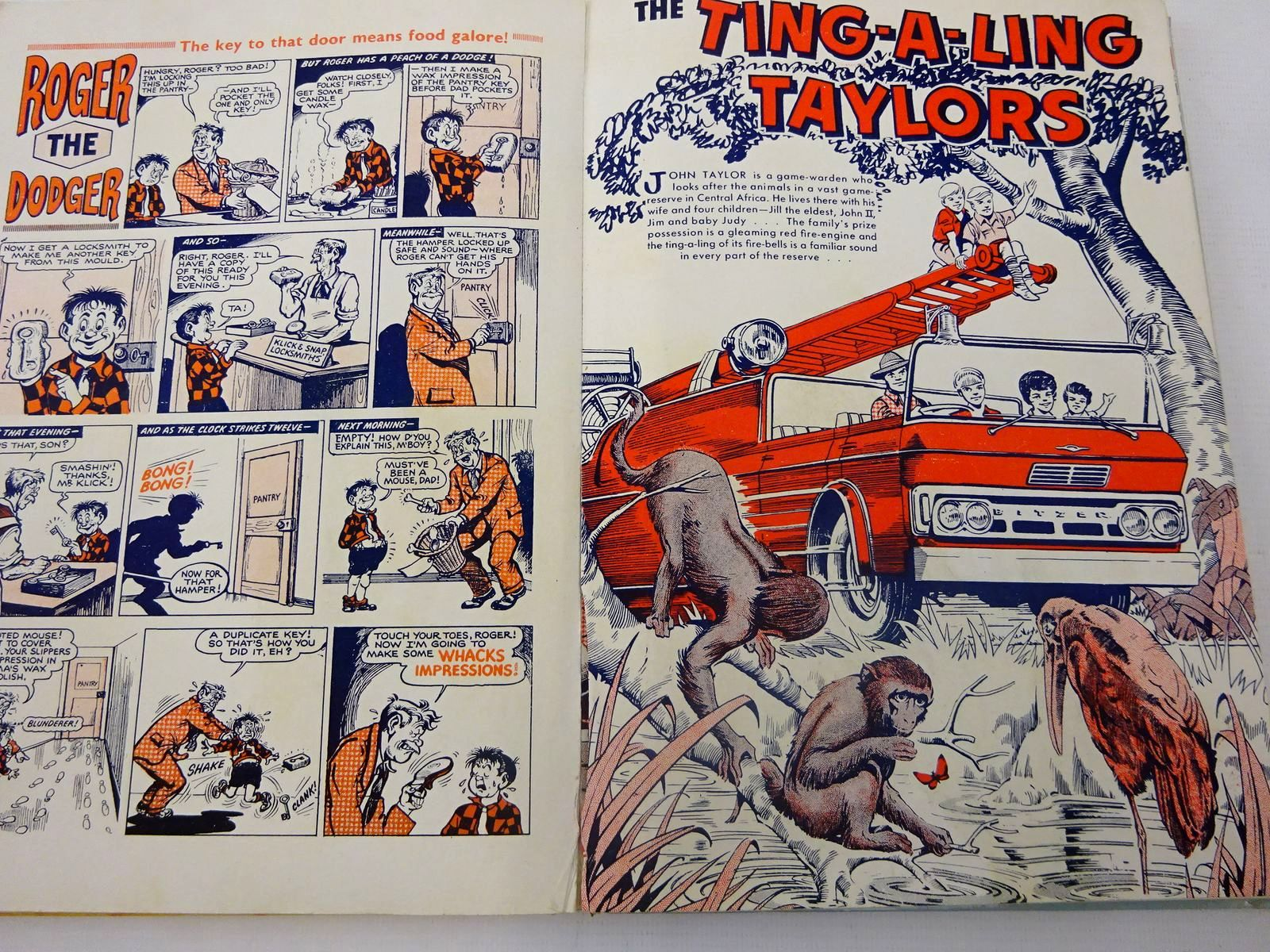 Photo of THE BEANO BOOK 1964 published by D.C. Thomson & Co Ltd. (STOCK CODE: 2127062)  for sale by Stella & Rose's Books
