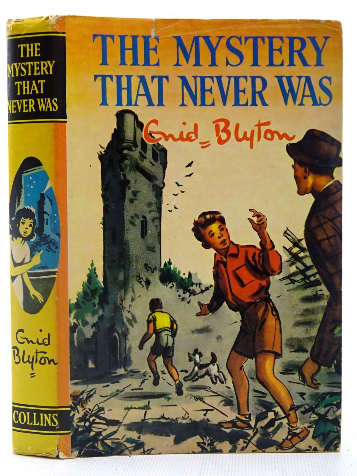 Photo of THE MYSTERY THAT NEVER WAS written by Blyton, Enid illustrated by Dunlop, Gilbert published by Collins (STOCK CODE: 2127073)  for sale by Stella & Rose's Books
