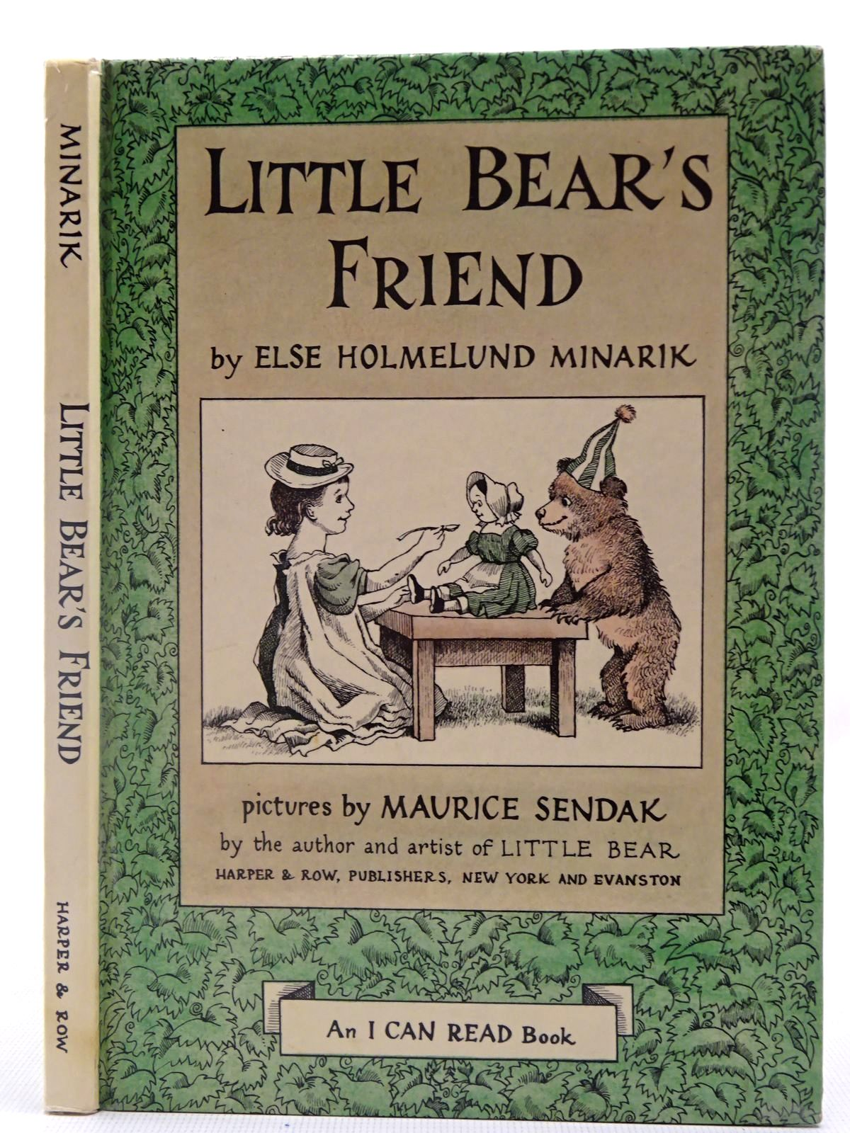Photo of LITTLE BEAR'S FRIEND written by Minarik, Else Holmelund illustrated by Sendak, Maurice published by Harper & Row (STOCK CODE: 2127078)  for sale by Stella & Rose's Books
