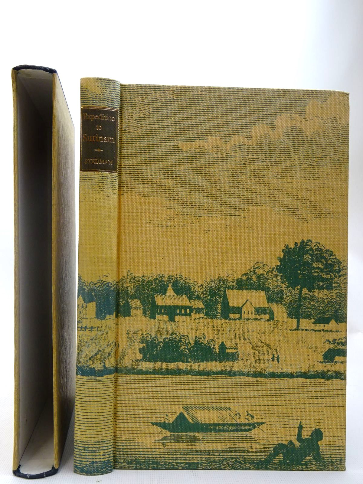 Photo of EXPEDITION TO SURINAM written by Stedman, John<br />Bryant, Christopher published by Folio Society (STOCK CODE: 2127096)  for sale by Stella & Rose's Books