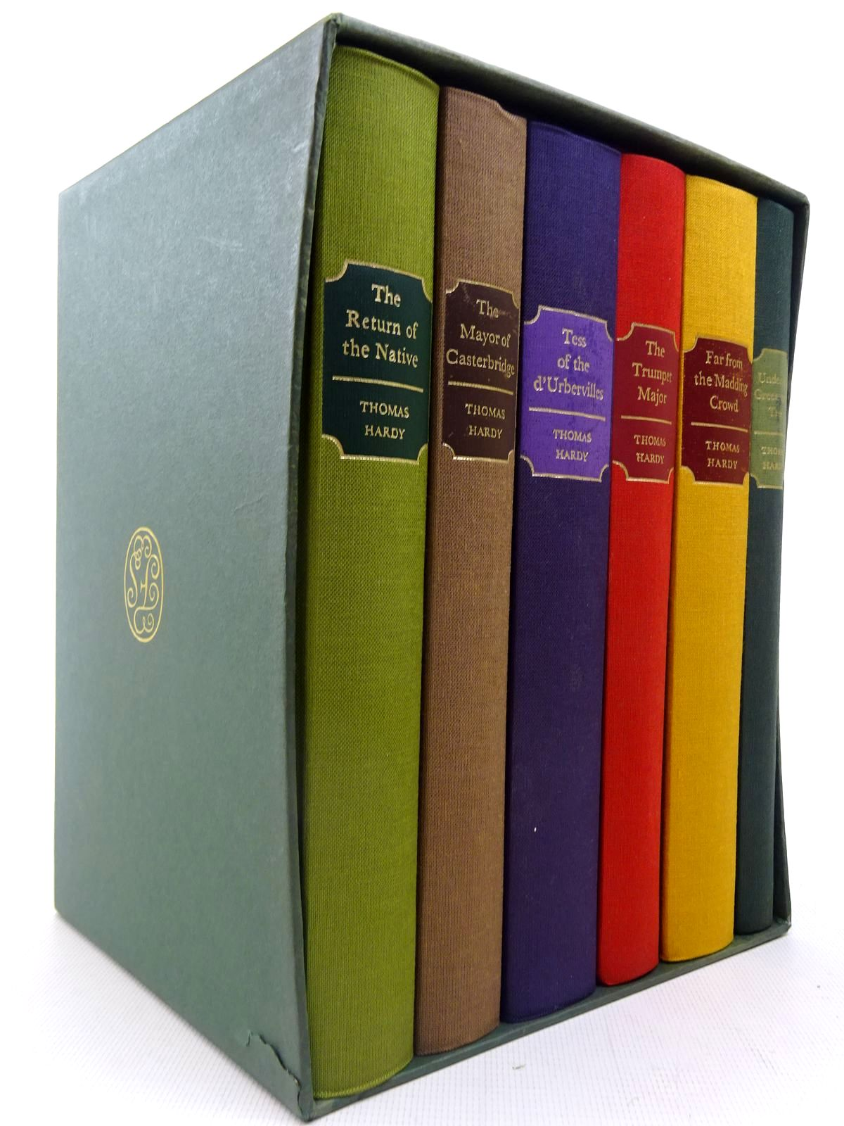 Photo of THE MAYOR OF CASTERBRIDGE; THE TRUMPET MAJOR; FAR FROM THE MADDING CROWD; TESS OF THE D'URBERVILLES; THE RETURN OF THE NATIVE; UNDER THE GREENWOOD TREE (6 VOLUMES) written by Hardy, Thomas published by Folio Society (STOCK CODE: 2127099)  for sale by Stella & Rose's Books