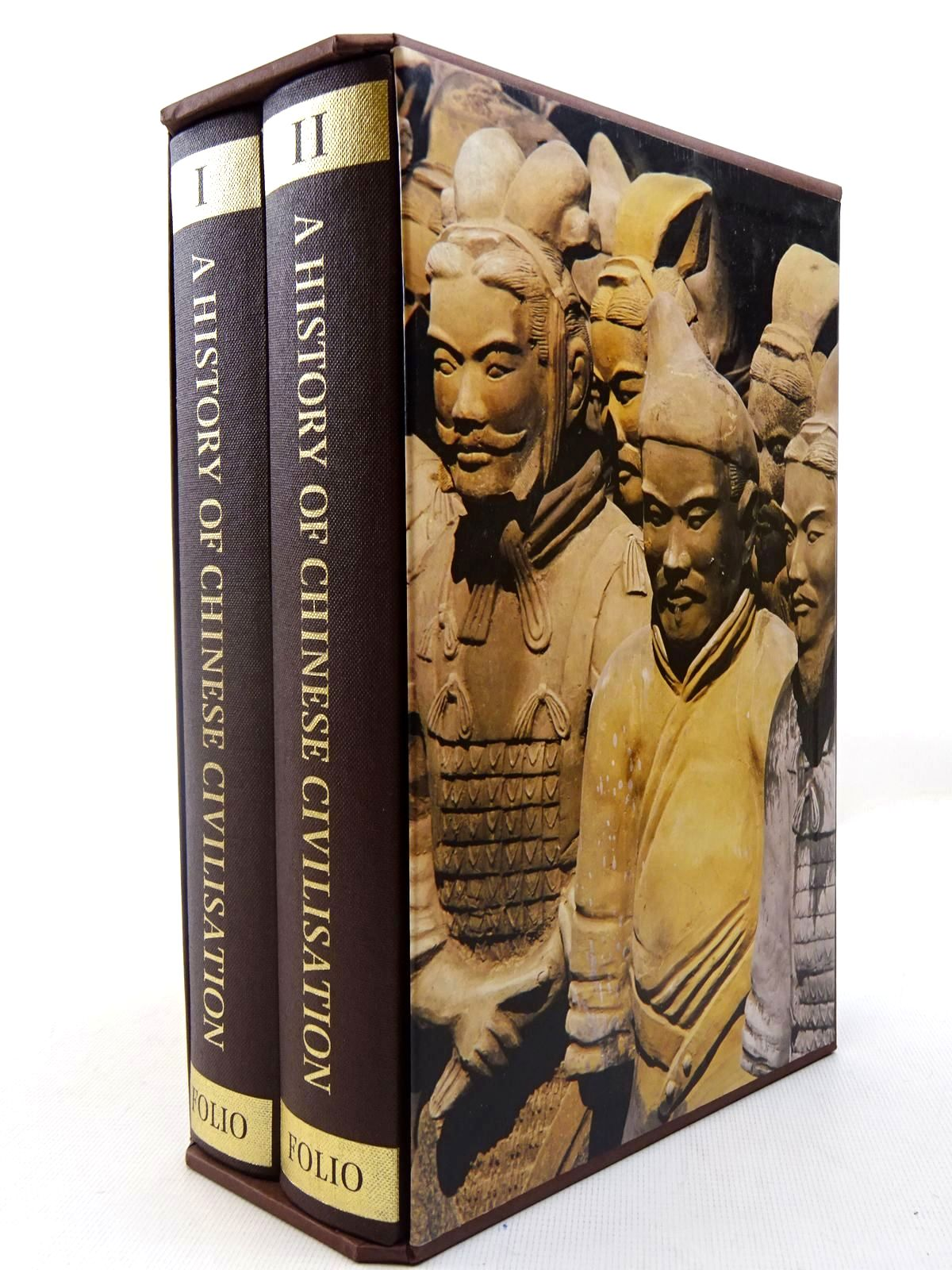 Photo of A HISTORY OF CHINESE CIVILISATION (2 VOLUMES) written by Gernet, Jacques published by Folio Society (STOCK CODE: 2127144)  for sale by Stella & Rose's Books