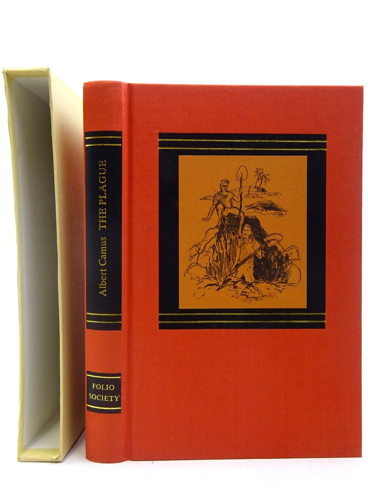 Photo of THE PLAGUE written by Camus, Albert<br />Parker, Derek illustrated by Kitson, Linda published by Folio Society (STOCK CODE: 2127146)  for sale by Stella & Rose's Books