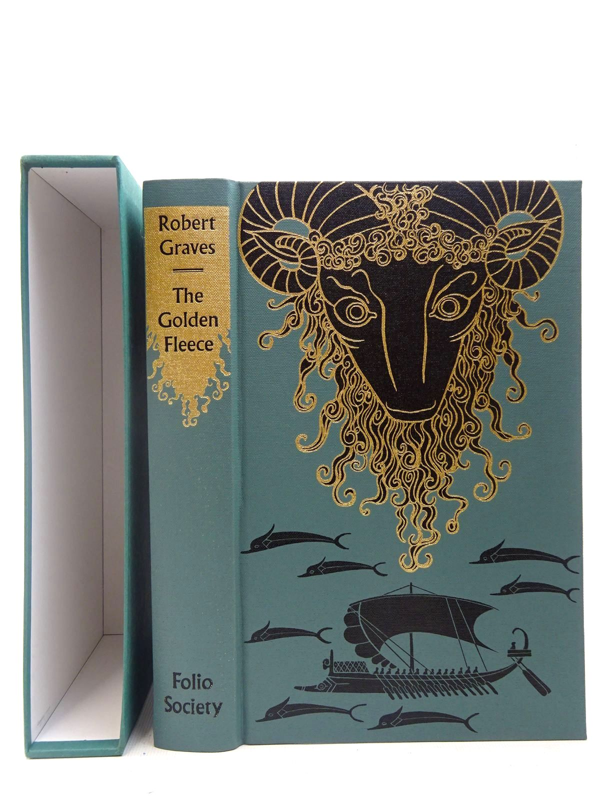 Photo of THE GOLDEN FLEECE written by Graves, Robert illustrated by Baker, Grahame published by Folio Society (STOCK CODE: 2127148)  for sale by Stella & Rose's Books