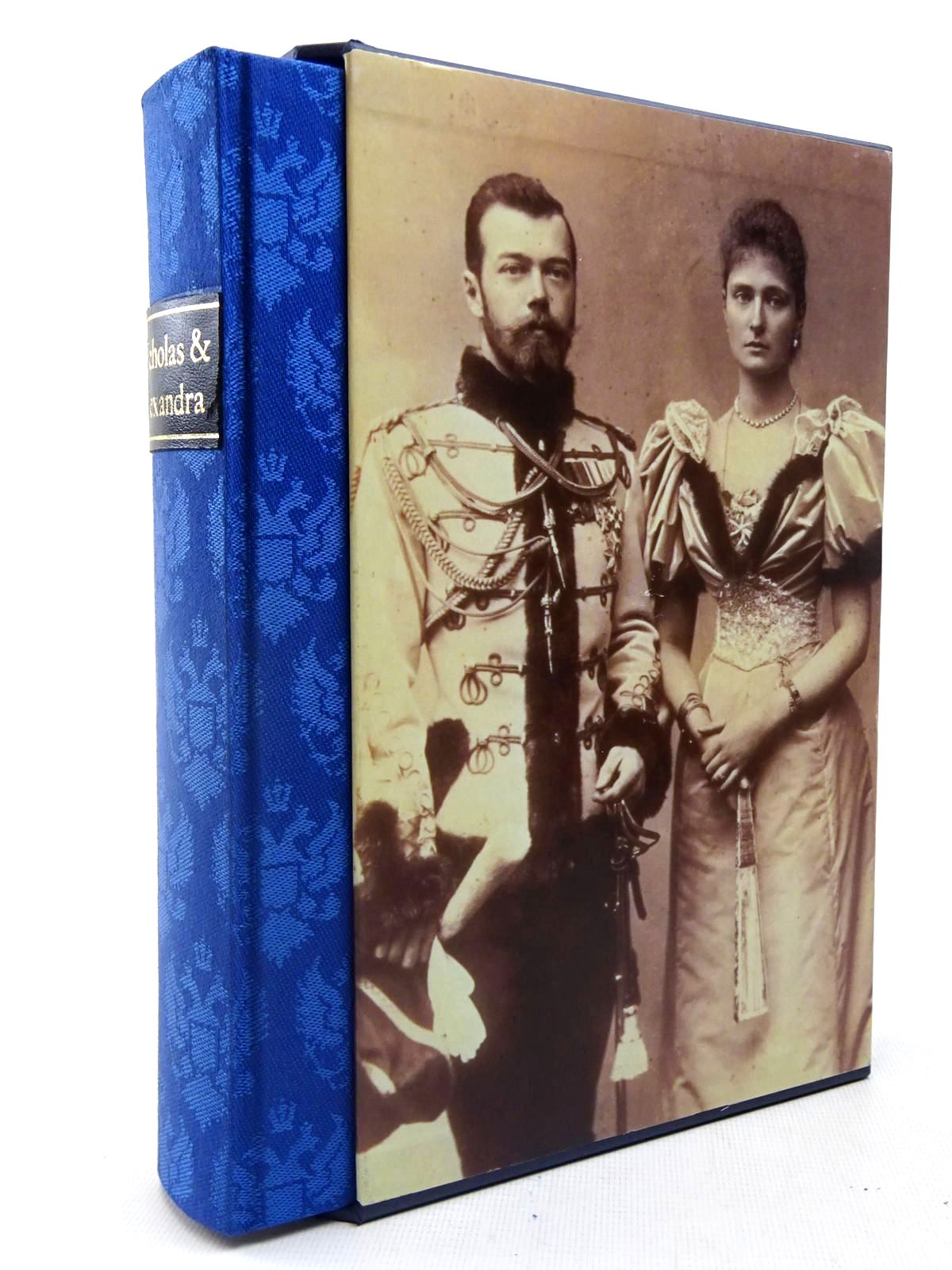 Photo of NICHOLAS AND ALEXANDRA written by Massie, Robert K. published by Folio Society (STOCK CODE: 2127149)  for sale by Stella & Rose's Books