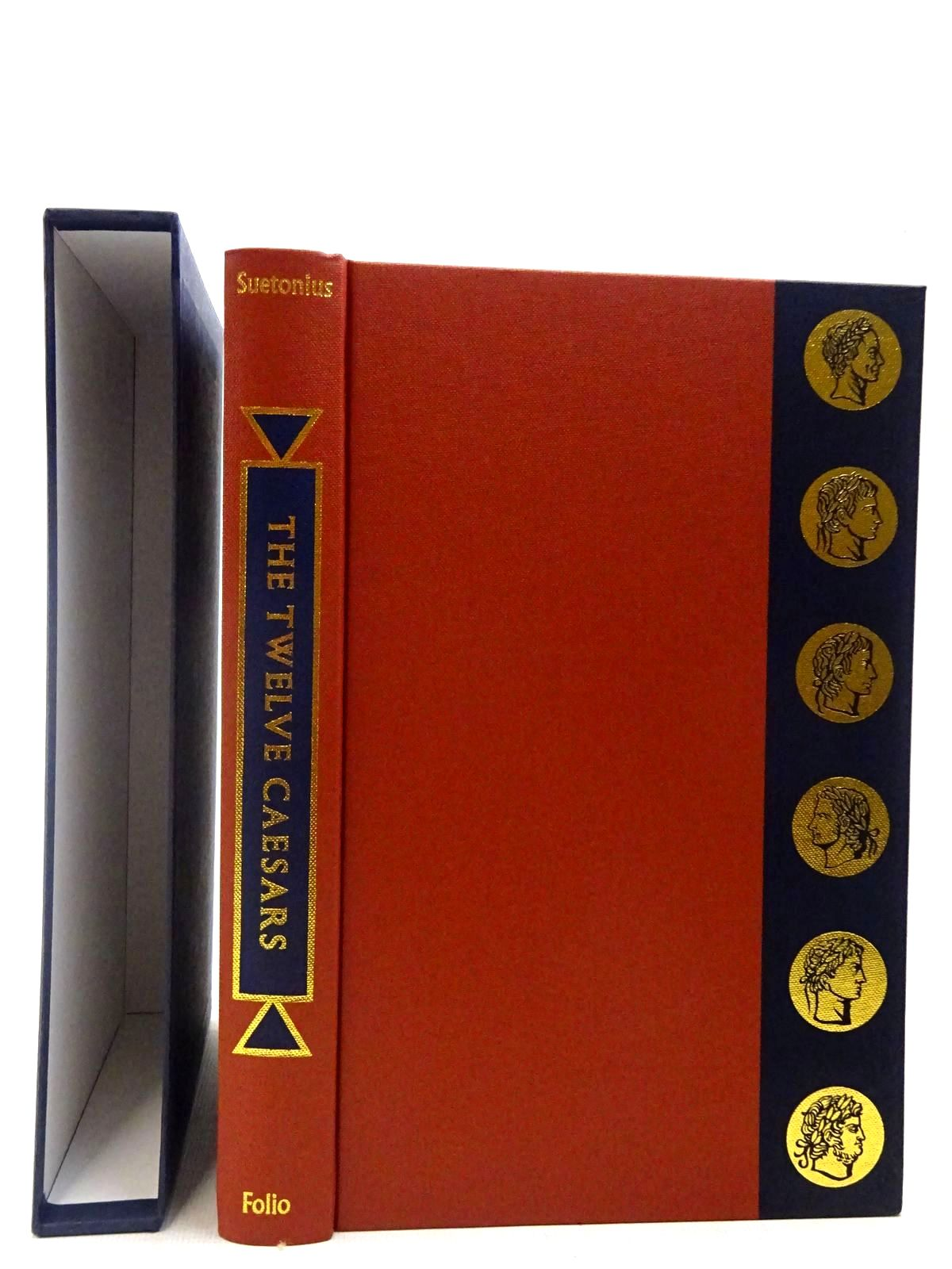 Photo of THE TWELVE CAESARS written by Tranquillus, Gaius Suetonius<br />Graves, Robert illustrated by Hawthorn, Raymond published by Folio Society (STOCK CODE: 2127151)  for sale by Stella & Rose's Books