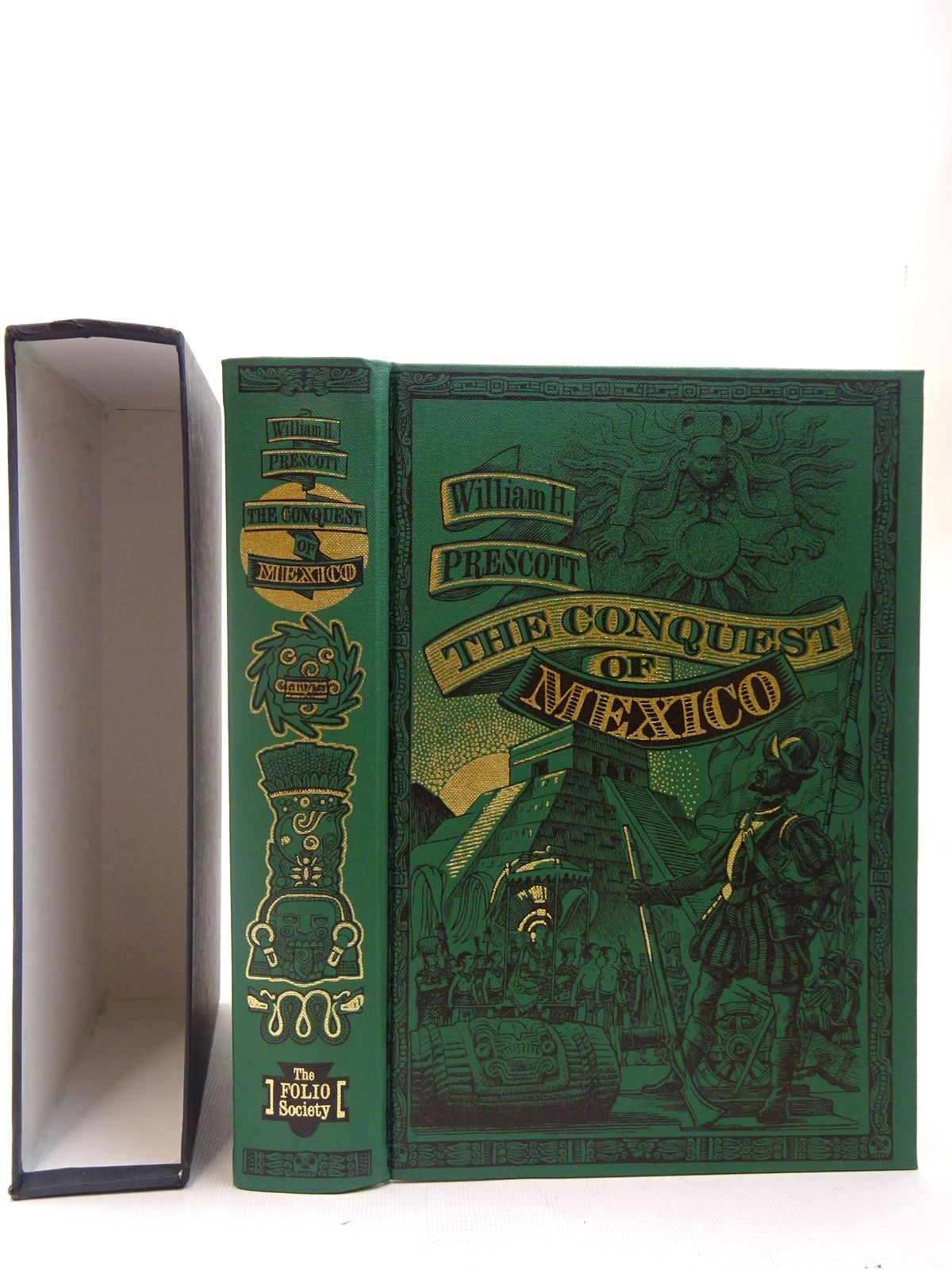 Photo of HISTORY OF THE CONQUEST OF MEXICO written by Prescott, William H. published by Folio Society (STOCK CODE: 2127153)  for sale by Stella & Rose's Books