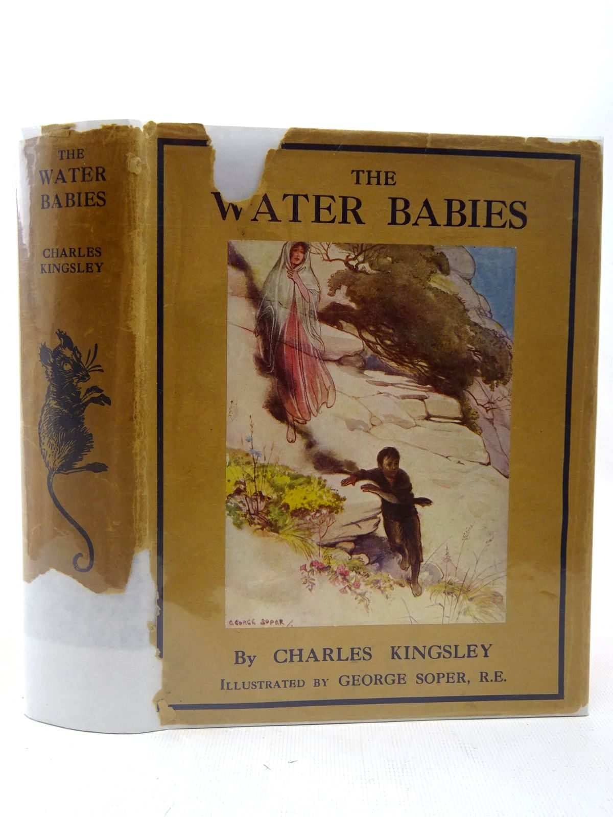 Photo of THE WATER BABIES written by Kingsley, Charles illustrated by Soper, George published by George Allen & Unwin Ltd. (STOCK CODE: 2127182)  for sale by Stella & Rose's Books