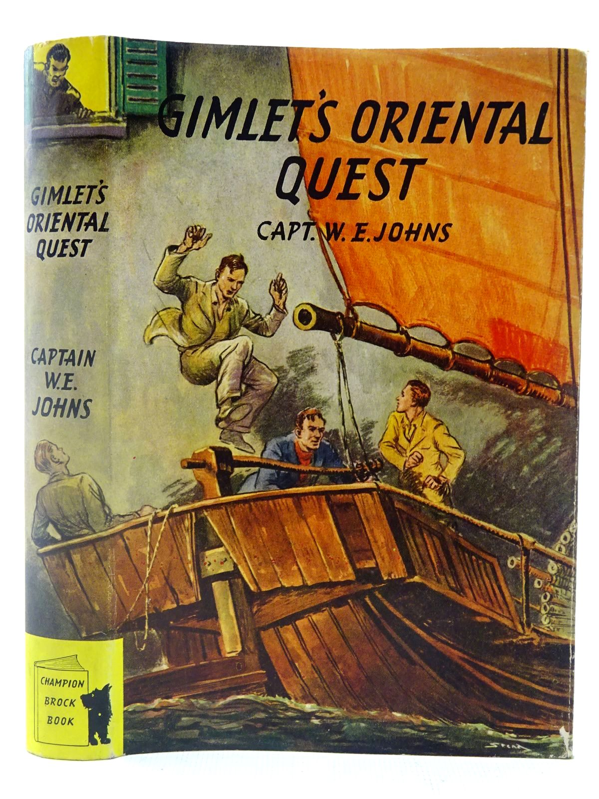 Photo of GIMLET'S ORIENTAL QUEST written by Johns, W.E. illustrated by Stead, Leslie published by Brockhampton Press (STOCK CODE: 2127184)  for sale by Stella & Rose's Books