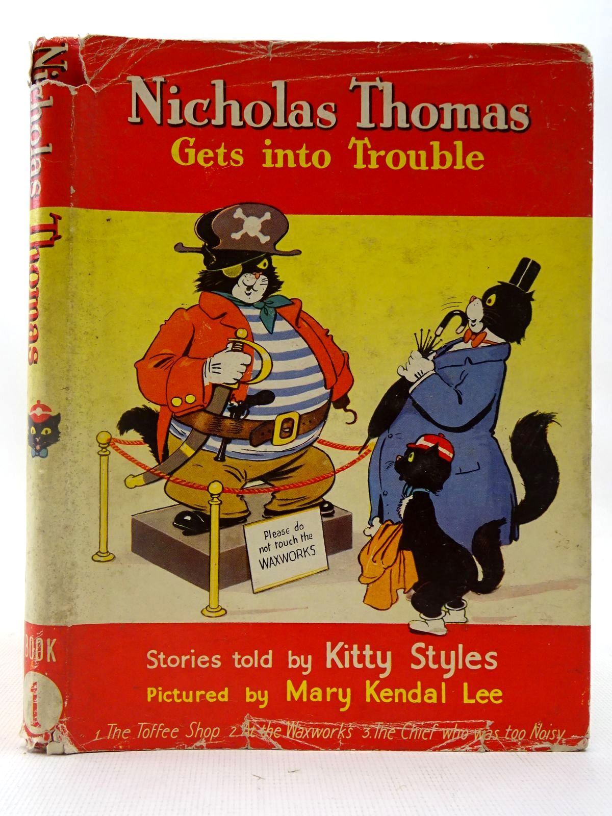 Photo of NICHOLAS THOMAS GETS INTO TROUBLE BOOK 1 written by Styles, Kitty illustrated by Lee, Mary Kendal published by Sampson Low, Marston & Co. Ltd. (STOCK CODE: 2127190)  for sale by Stella & Rose's Books