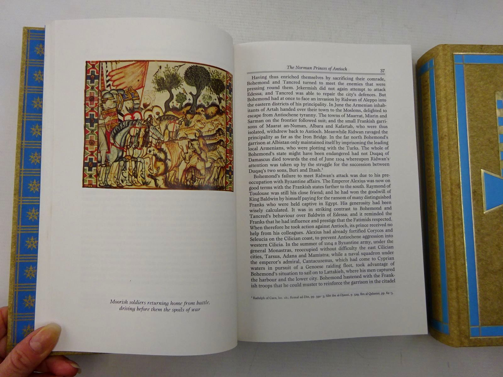 Photo of A HISTORY OF THE CRUSADES (3 VOLUMES) written by Runciman, Steven published by Folio Society (STOCK CODE: 2127200)  for sale by Stella & Rose's Books