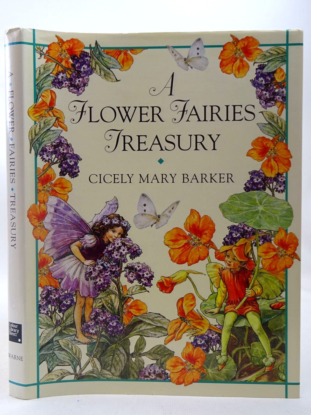Photo of A FLOWER FAIRIES TREASURY written by Barker, Cicely Mary illustrated by Barker, Cicely Mary published by Colour Library Direct, Frederick Warne (STOCK CODE: 2127208)  for sale by Stella & Rose's Books