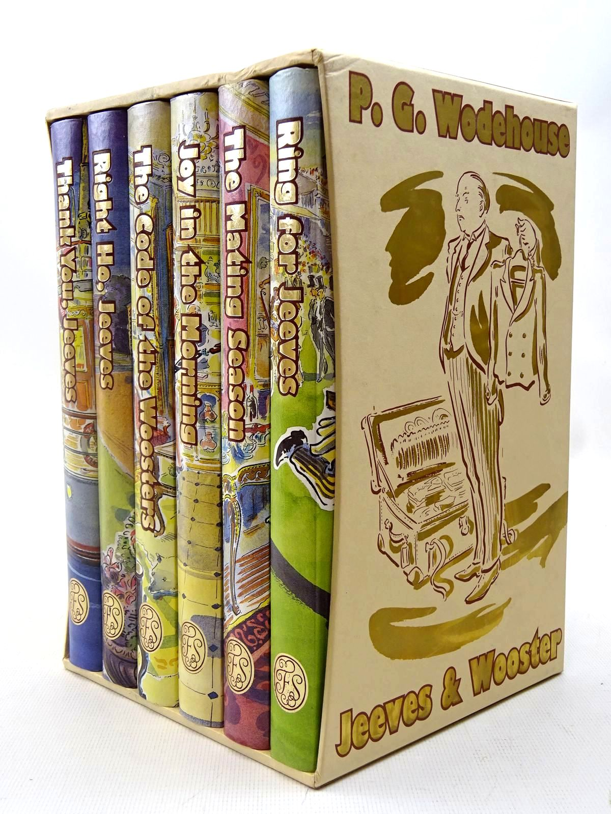 Photo of JEEVES & WOOSTER (6 VOLUMES) written by Wodehouse, P.G. illustrated by Cox, Paul published by Folio Society (STOCK CODE: 2127219)  for sale by Stella & Rose's Books