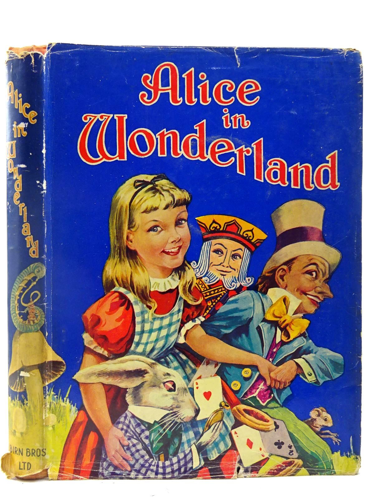 Photo of ALICE IN WONDERLAND written by Carroll, Lewis published by Birn Brothers Ltd. (STOCK CODE: 2127251)  for sale by Stella & Rose's Books