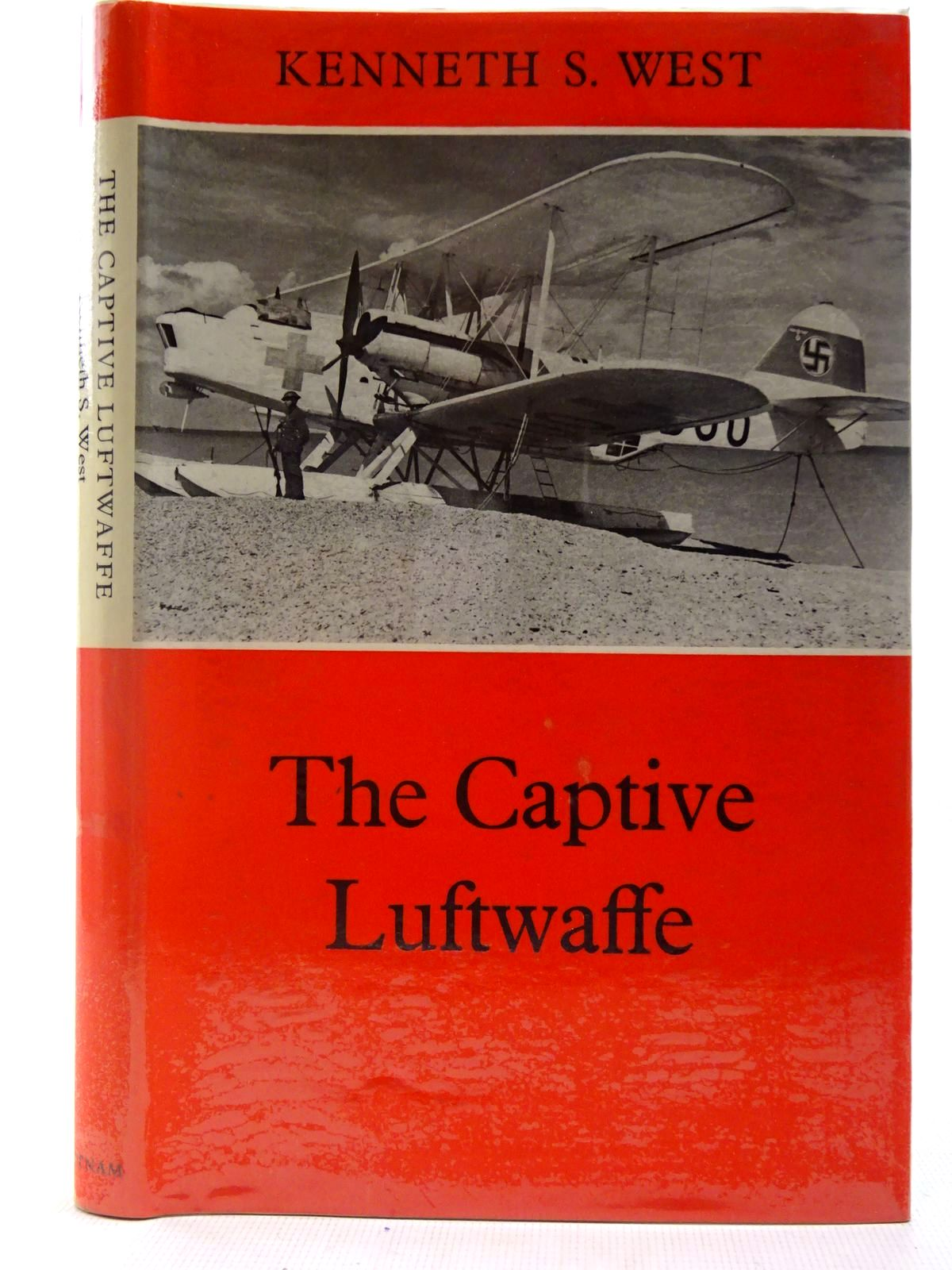 Photo of THE CAPTIVE LUFTWAFFE written by West, Kenneth S. published by Putnam (STOCK CODE: 2127256)  for sale by Stella & Rose's Books