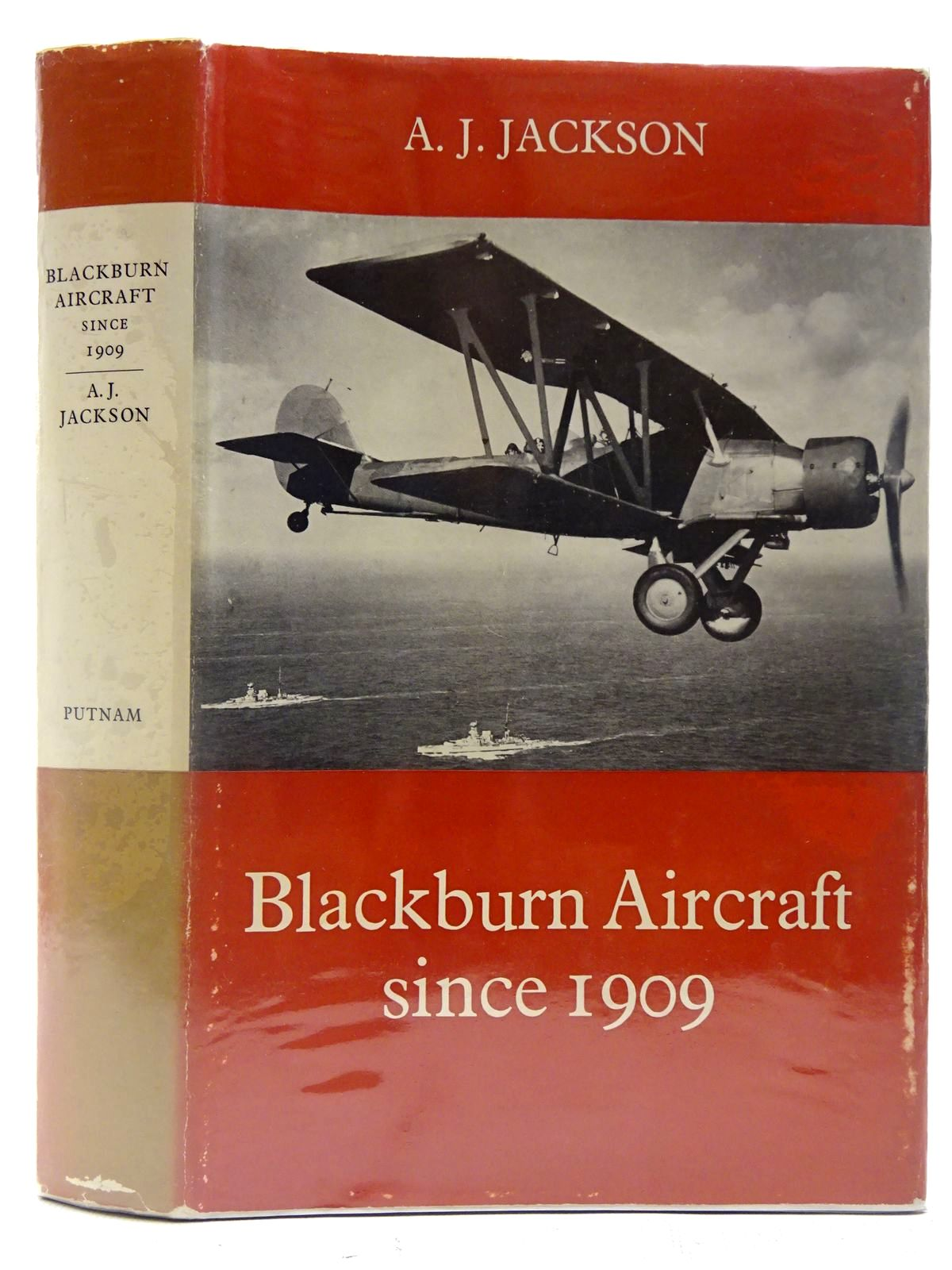 Photo of BLACKBURN AIRCRAFT SINCE 1909 written by Jackson, A.J. published by Putnam (STOCK CODE: 2127259)  for sale by Stella & Rose's Books