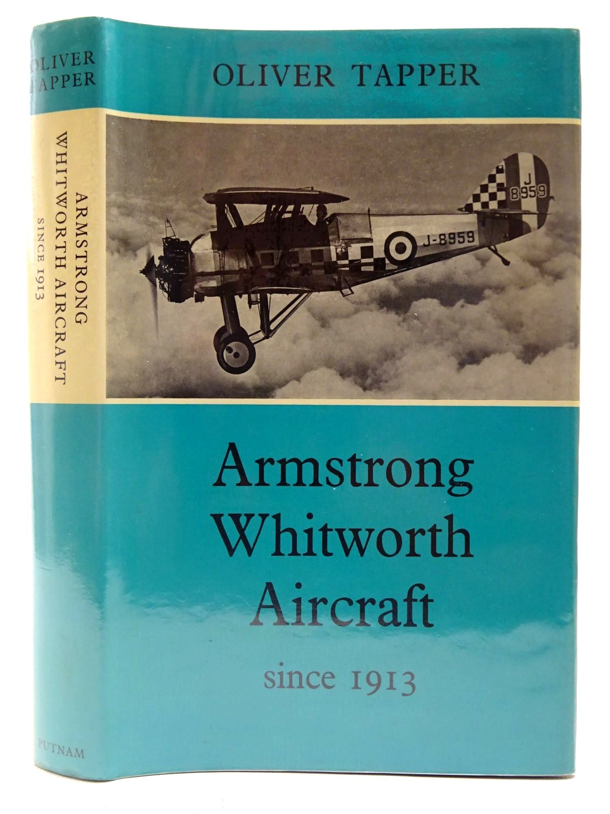 Photo of ARMSTRONG WHITWORTH AIRCRAFT SINCE 1913 written by Tapper, Oliver published by Putnam (STOCK CODE: 2127261)  for sale by Stella & Rose's Books