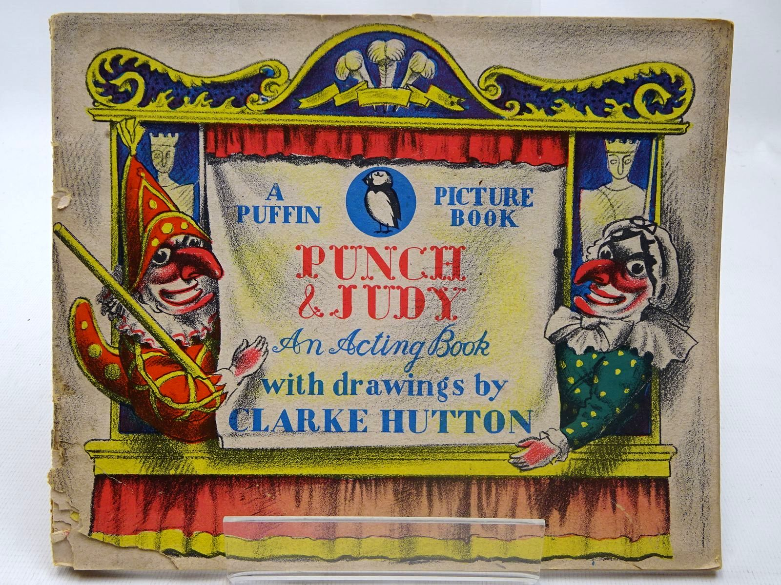 Photo of PUNCH & JUDY written by Carrington, Noel illustrated by Hutton, Clarke published by Penguin (STOCK CODE: 2127300)  for sale by Stella & Rose's Books