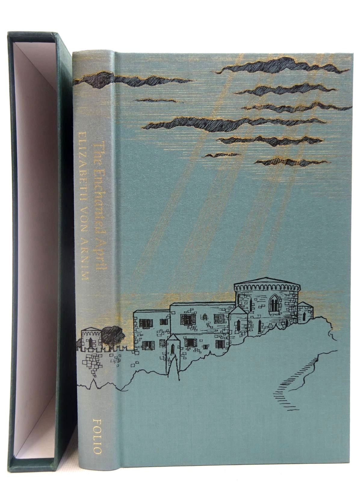 Photo of THE ENCHANTED APRIL written by Von Arnim, Elizabeth<br />Howard, Elizabeth Jane illustrated by Mcfarlane, Debra published by Folio Society (STOCK CODE: 2127304)  for sale by Stella & Rose's Books