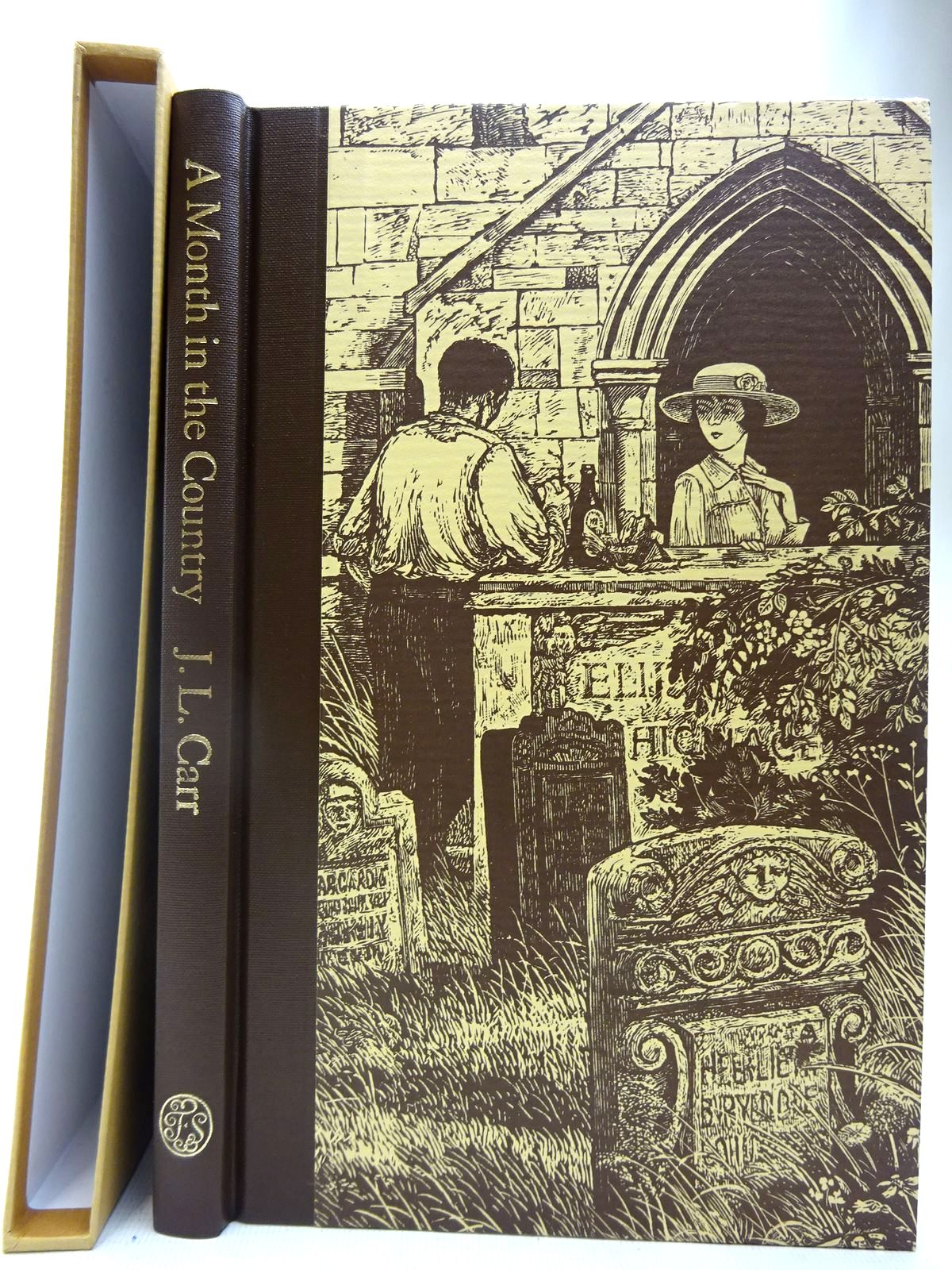 Photo of A MONTH IN THE COUNTRY written by Carr, J.L.<br />Blythe, Ronald illustrated by Stephens, Ian published by Folio Society (STOCK CODE: 2127306)  for sale by Stella & Rose's Books