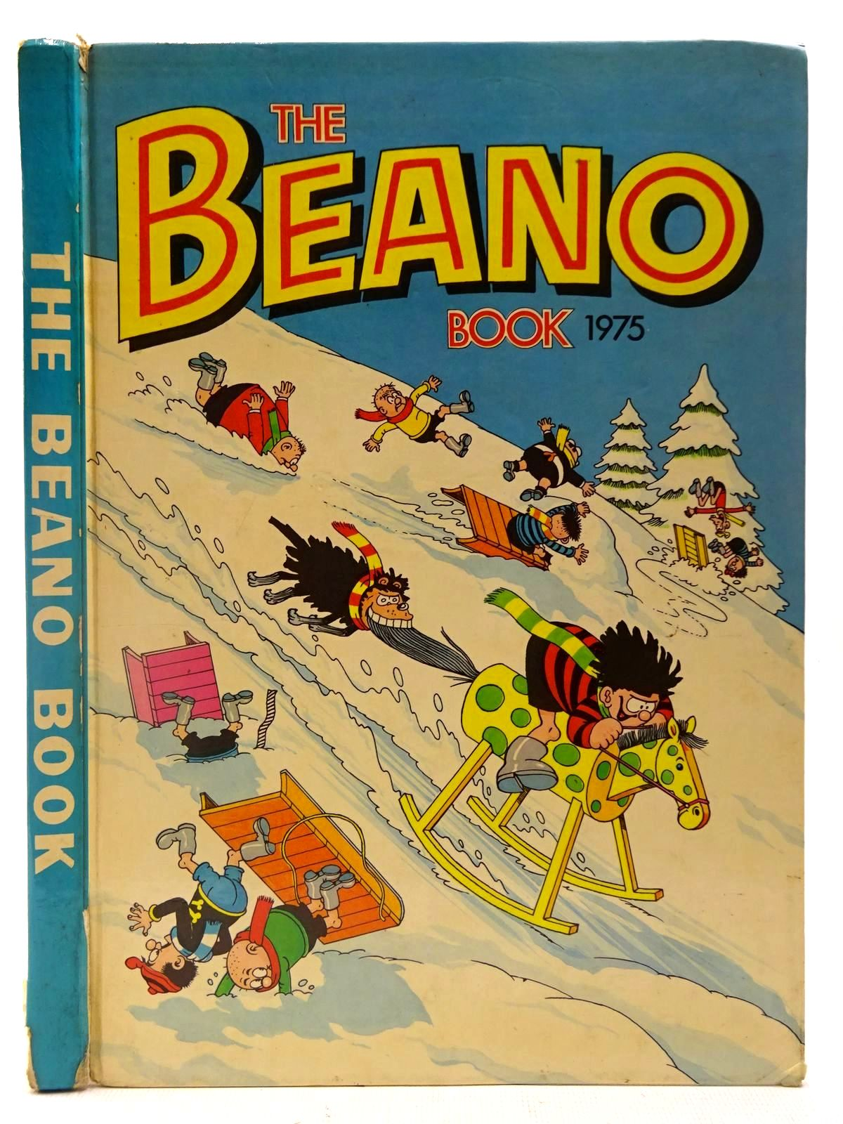 Photo of THE BEANO BOOK 1975 published by D.C. Thomson & Co Ltd. (STOCK CODE: 2127309)  for sale by Stella & Rose's Books