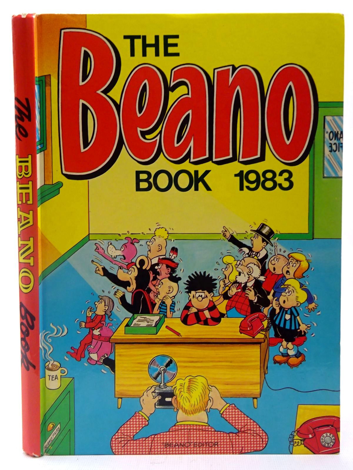 Photo of THE BEANO BOOK 1983 published by D.C. Thomson & Co Ltd. (STOCK CODE: 2127311)  for sale by Stella & Rose's Books